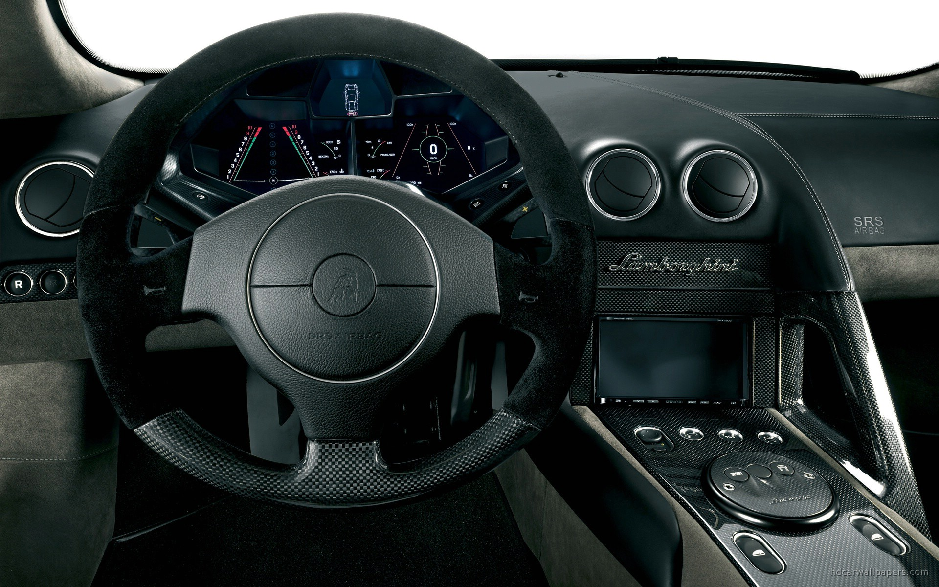 Lamborghini Reventon Interior Wallpaper 193098