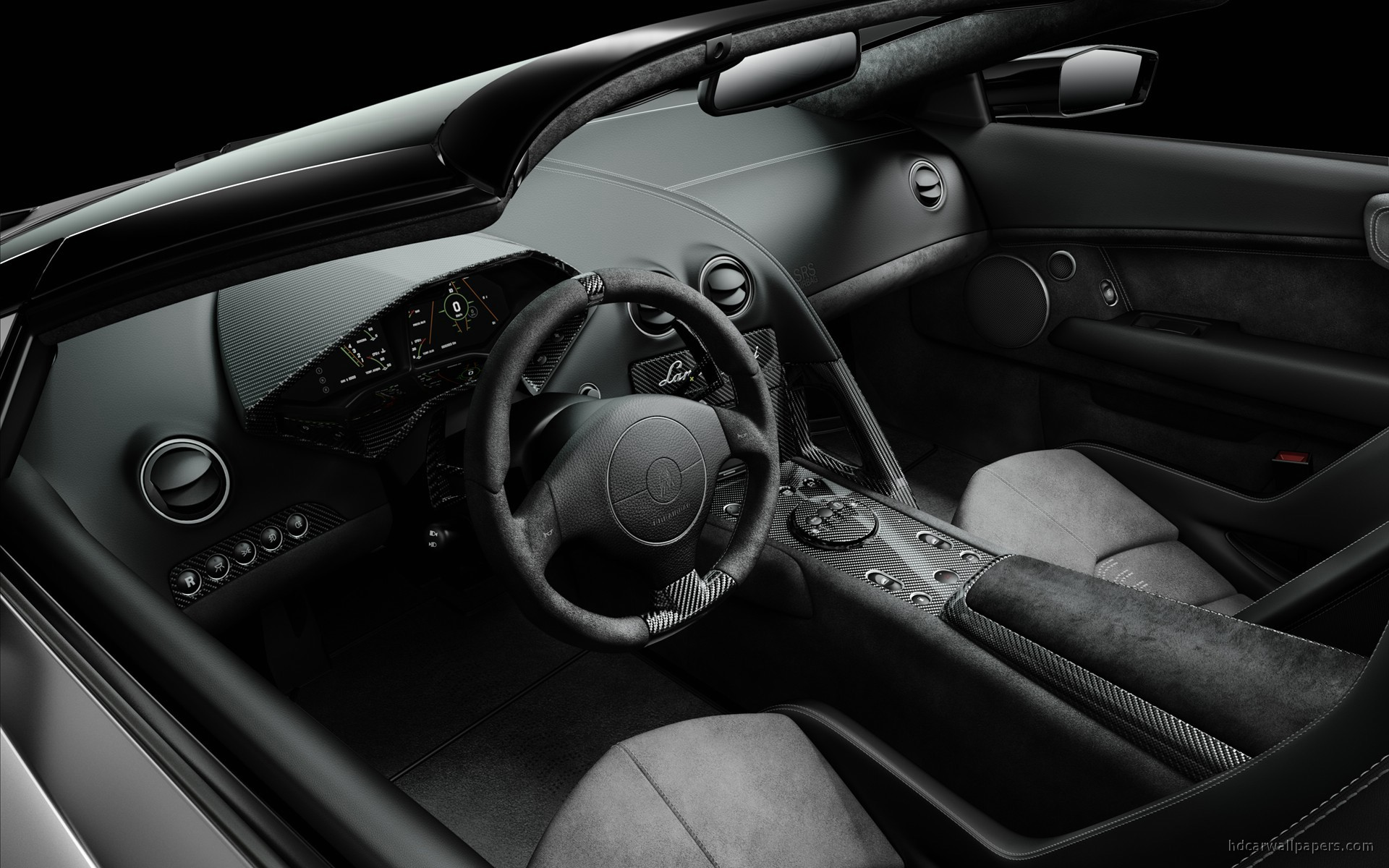 Lamborghini Reventon Roadster Interior Wallpaper | HD Car ...