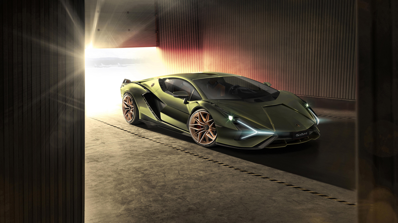Lamborghini Sian 2019 4k Wallpaper Hd Car Wallpapers Id
