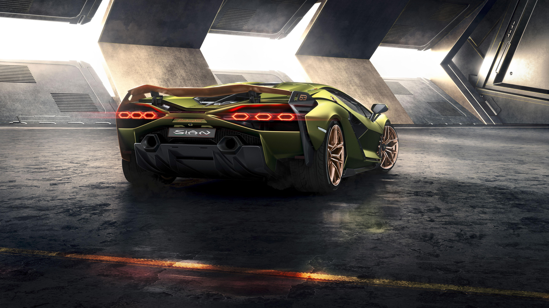 Lamborghini Sian 2019 4K 2 Wallpaper