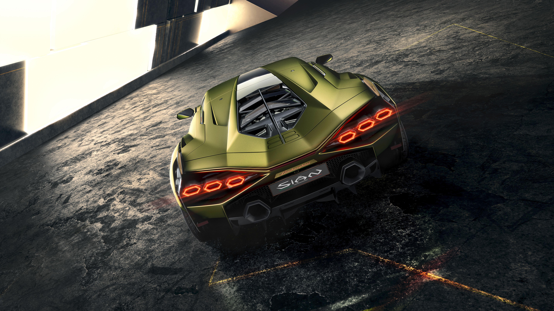 Lamborghini Sian 2019 4K 8 Wallpaper