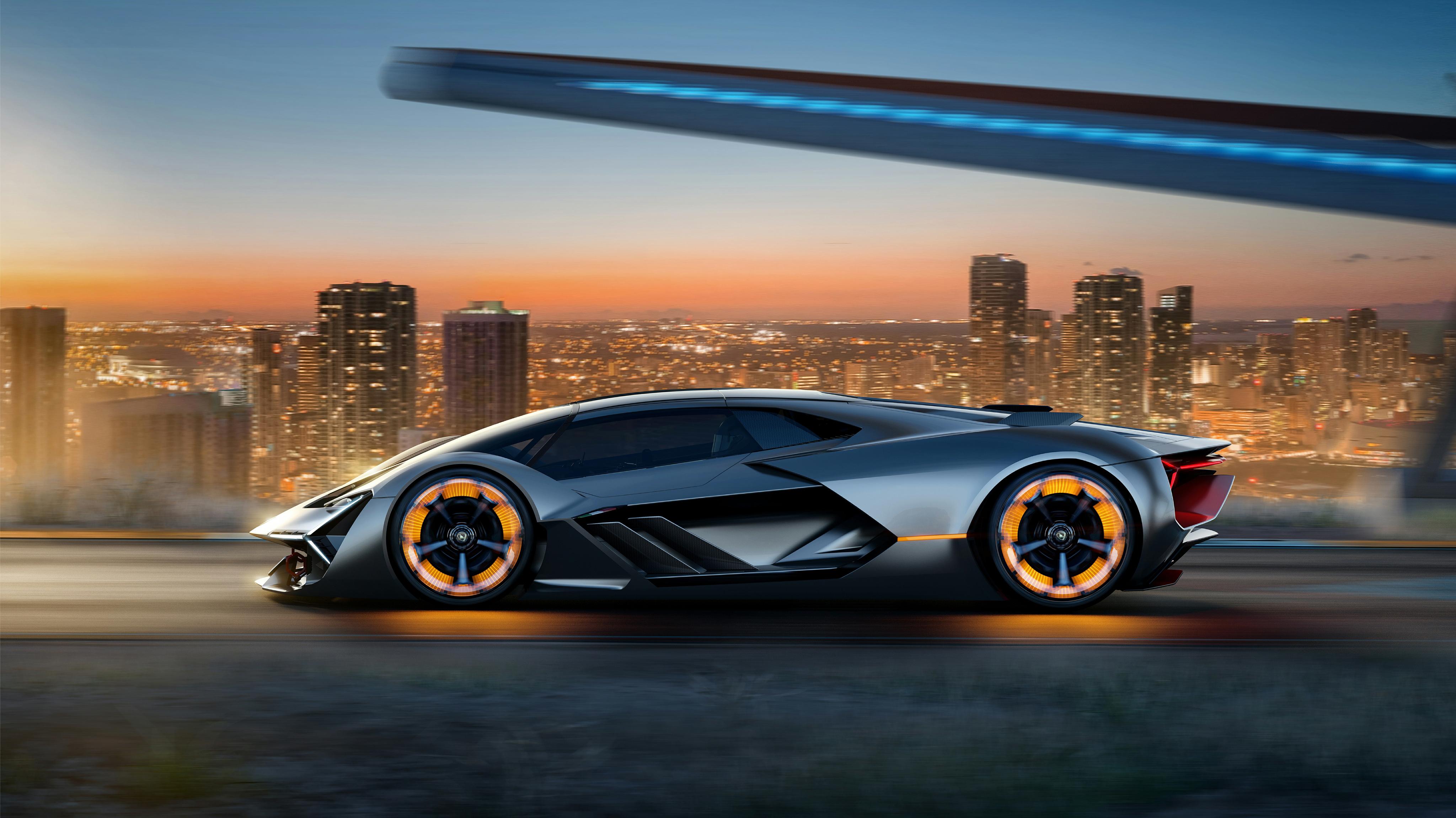 Lamborghini Terzo Mil Nio Ev Supercar K