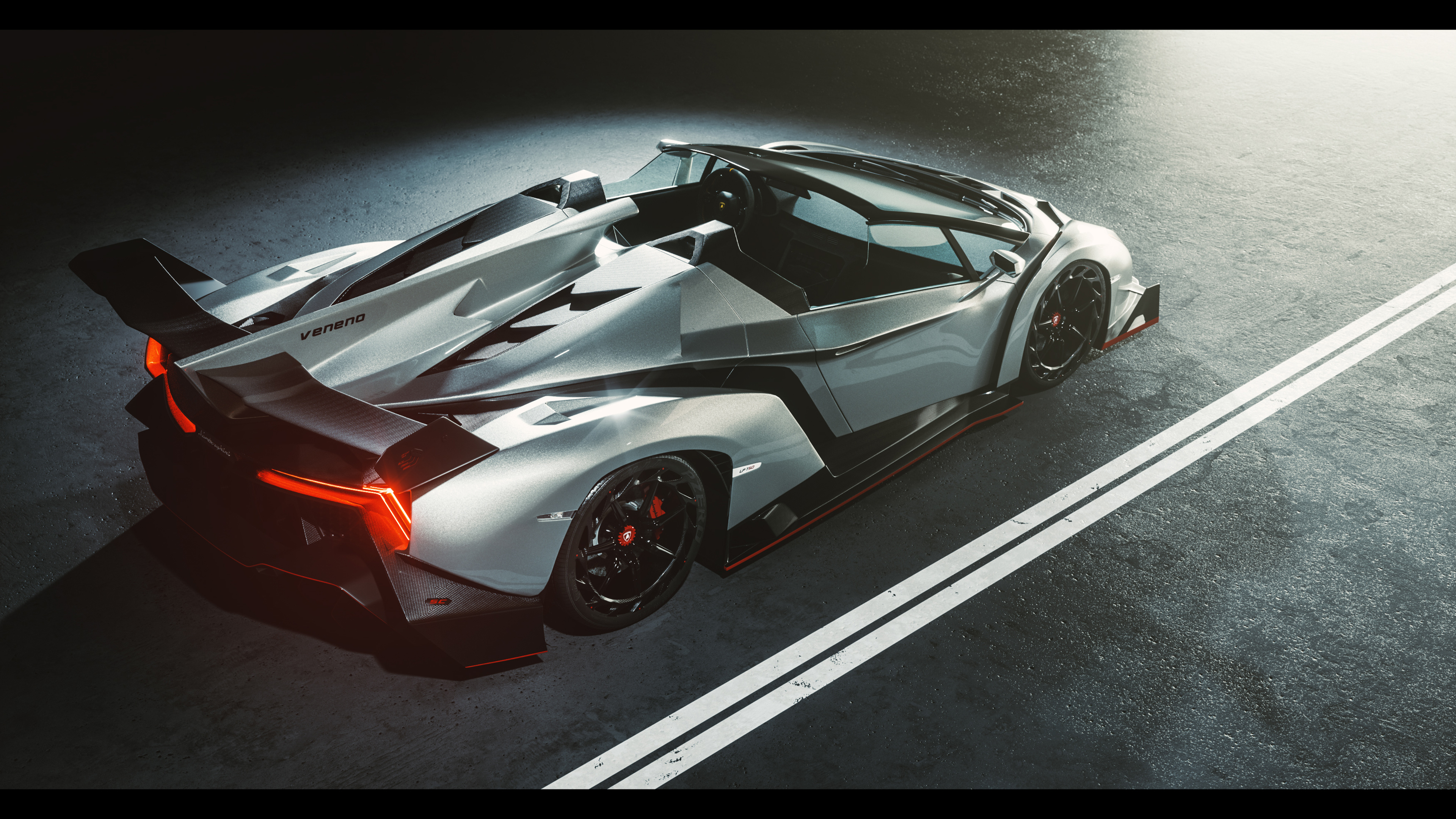 Top Hd Wallpapers Cars Wallpapers Desktop Hd: Lamborghini Veneno 4K Wallpaper