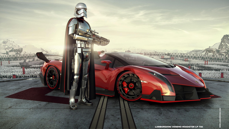 Lamborghini Veneno Roadster Phasma Wallpaper | HD Car ...