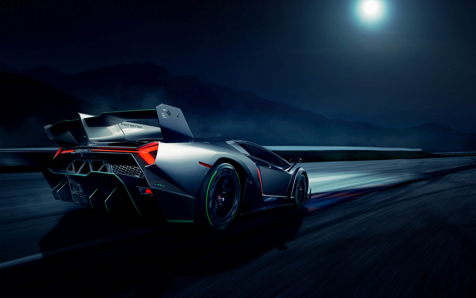 Supercar Hd Wallpaper: Lamborghini Veneno Supercar 2 Wallpaper