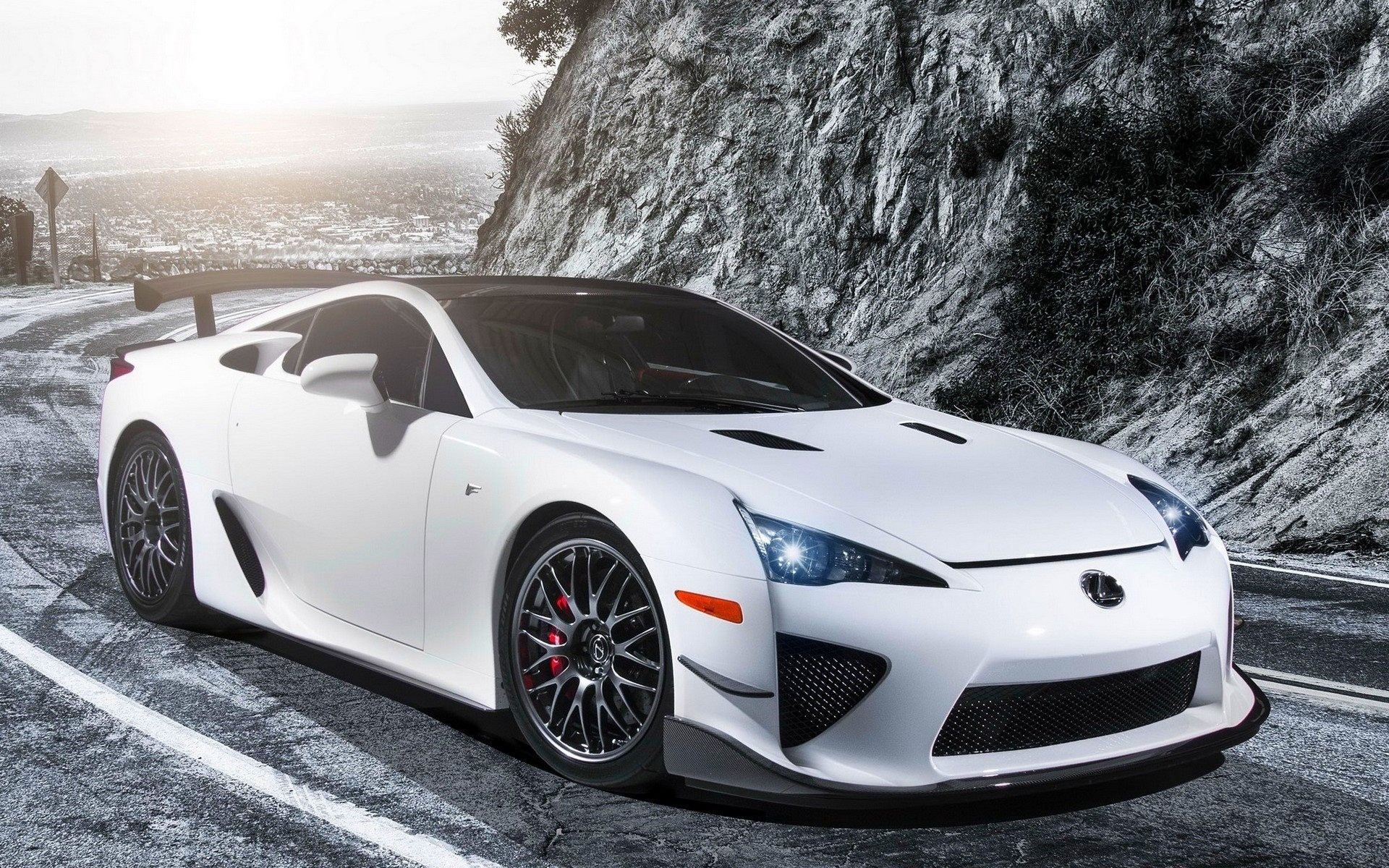 lexus lfa wallpaper hd car wallpapers id 4924. Black Bedroom Furniture Sets. Home Design Ideas