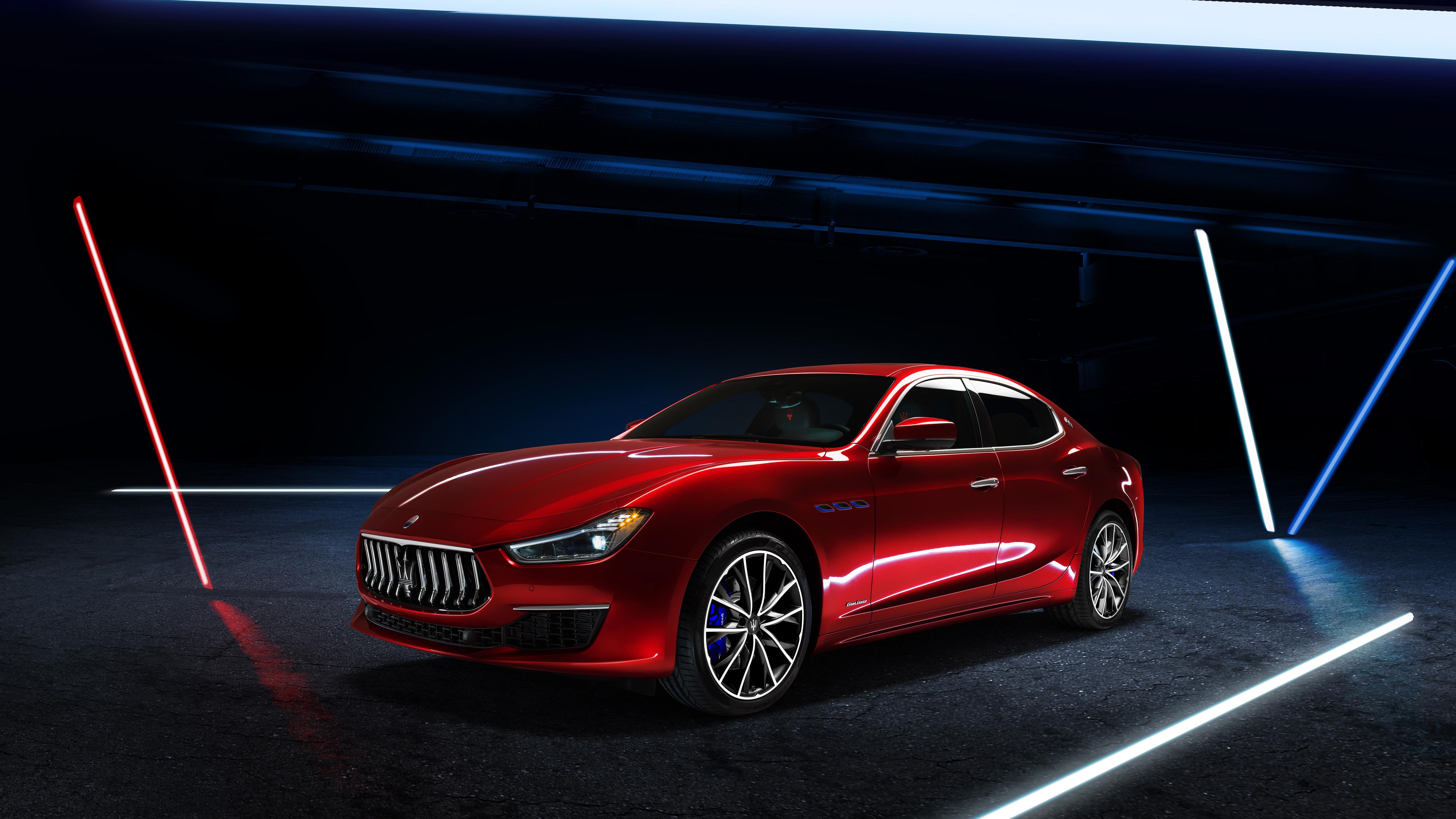 Maserati Ghibli GranLusso Hybrid 2020 5K 4 Wallpaper | HD ...