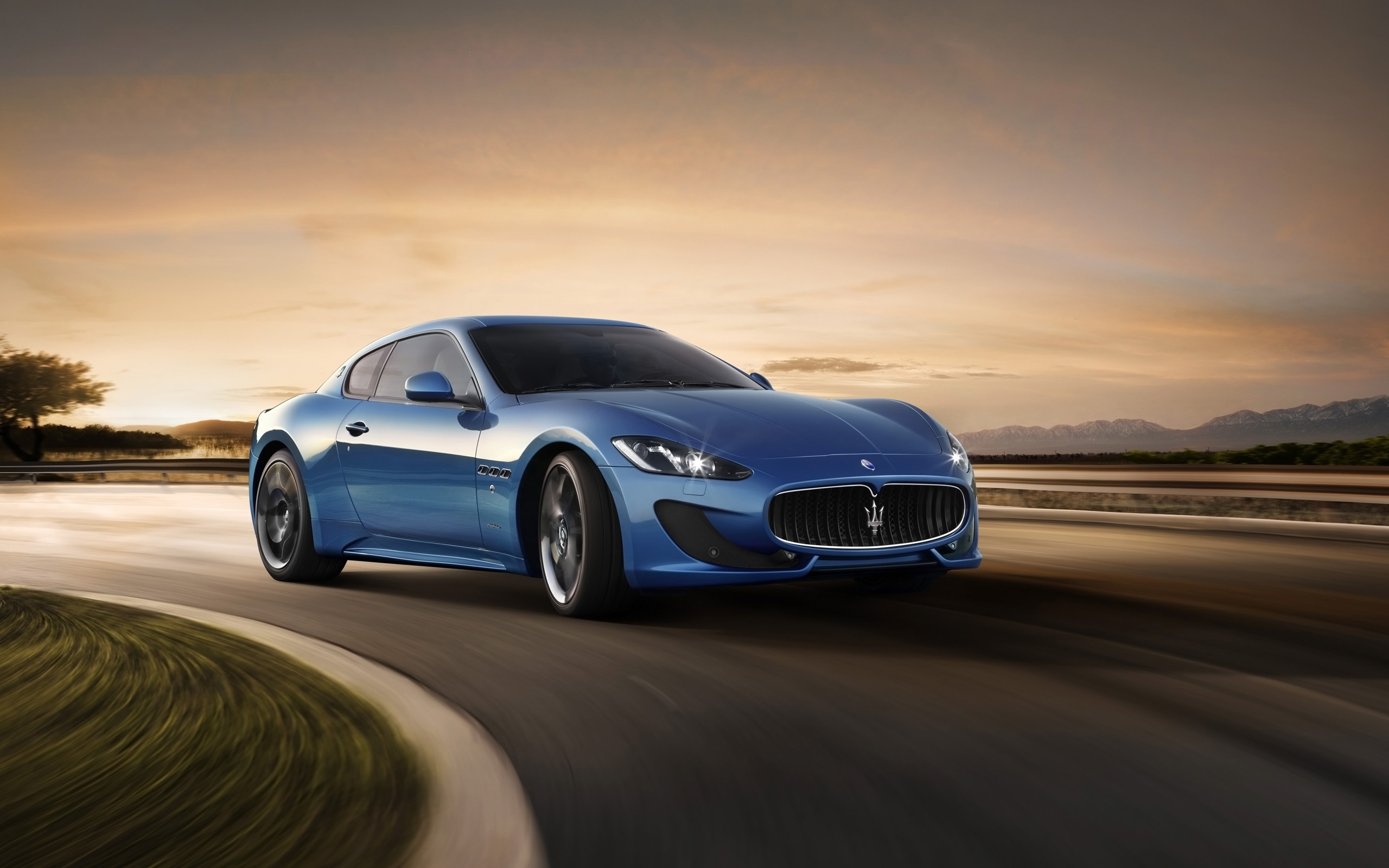 Gran Turismo Sport Iphone Wallpaper: Maserati GranTurismo Sport 2014 Wallpaper