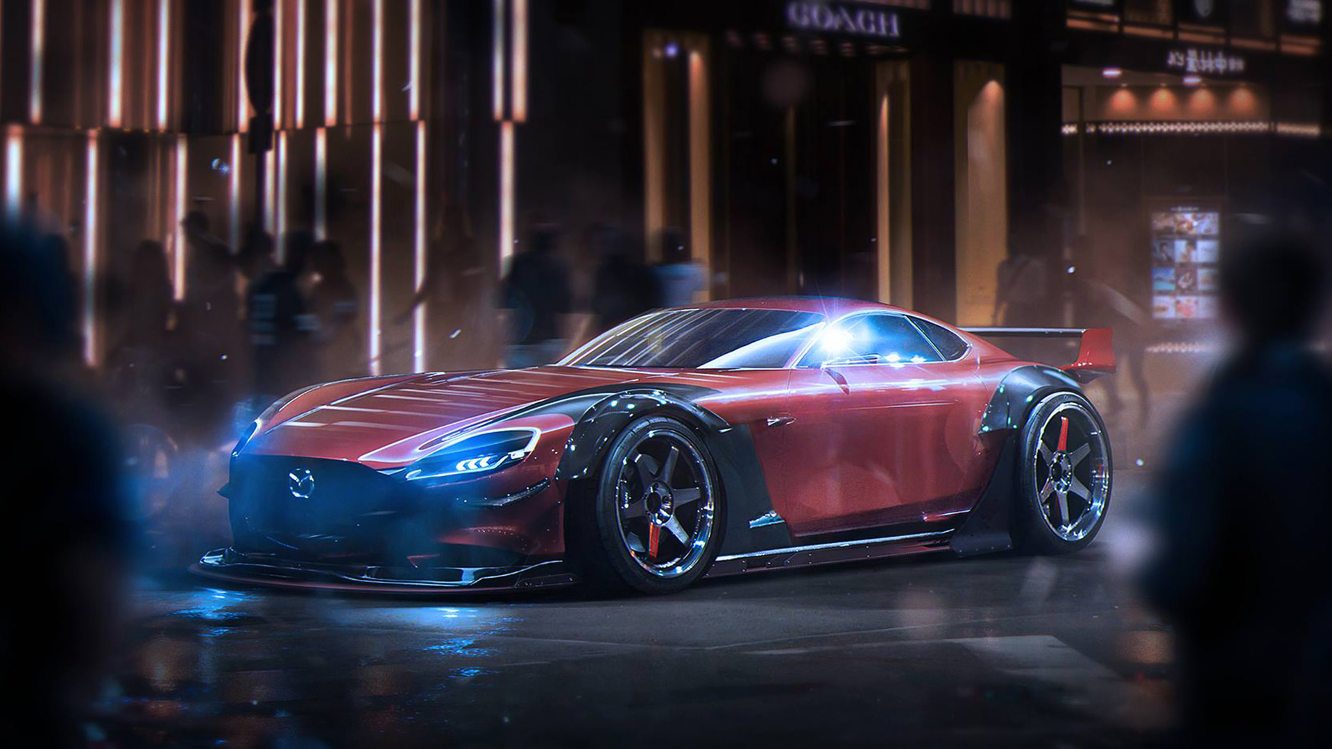 Mazda Rx Vision Concept Wallpaper Hd Car Wallpapers Id