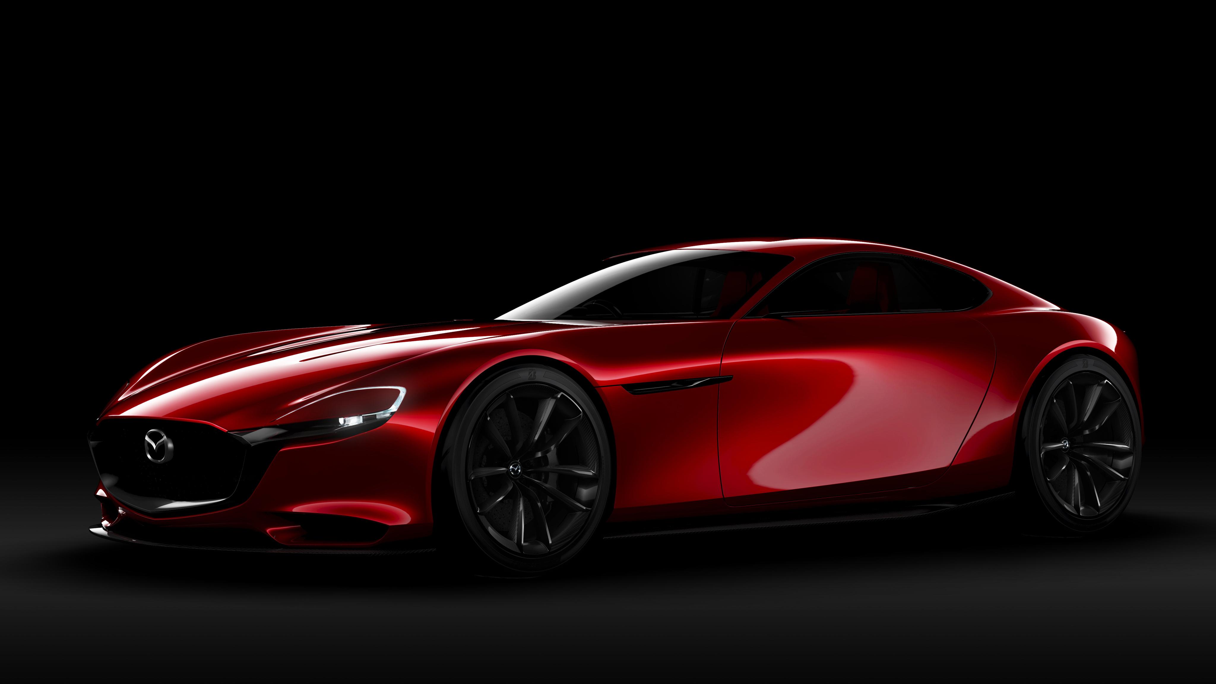 Mazda RX Vision Concept 4K Wallpaper