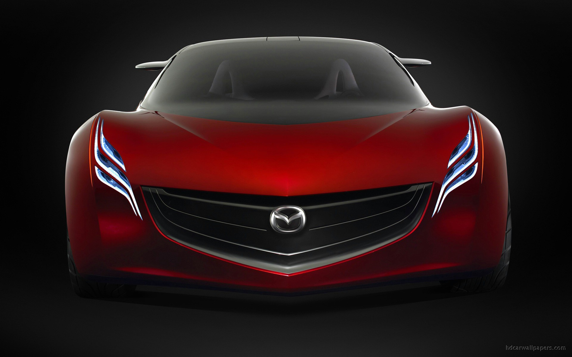 mazda ryuga concept car wide