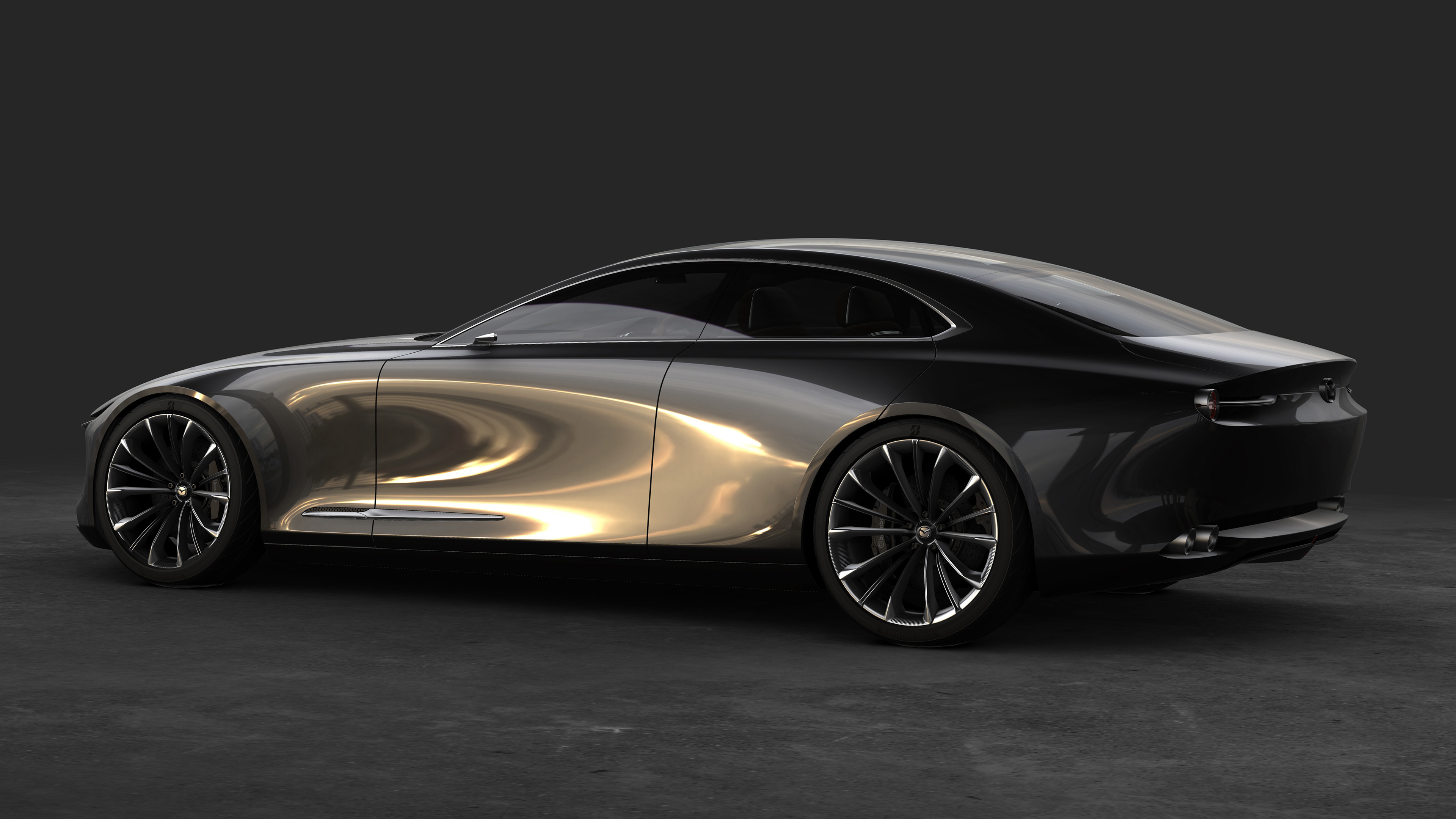 Mazda Vision Coupe Concept 4K Wallpaper | HD Car ...