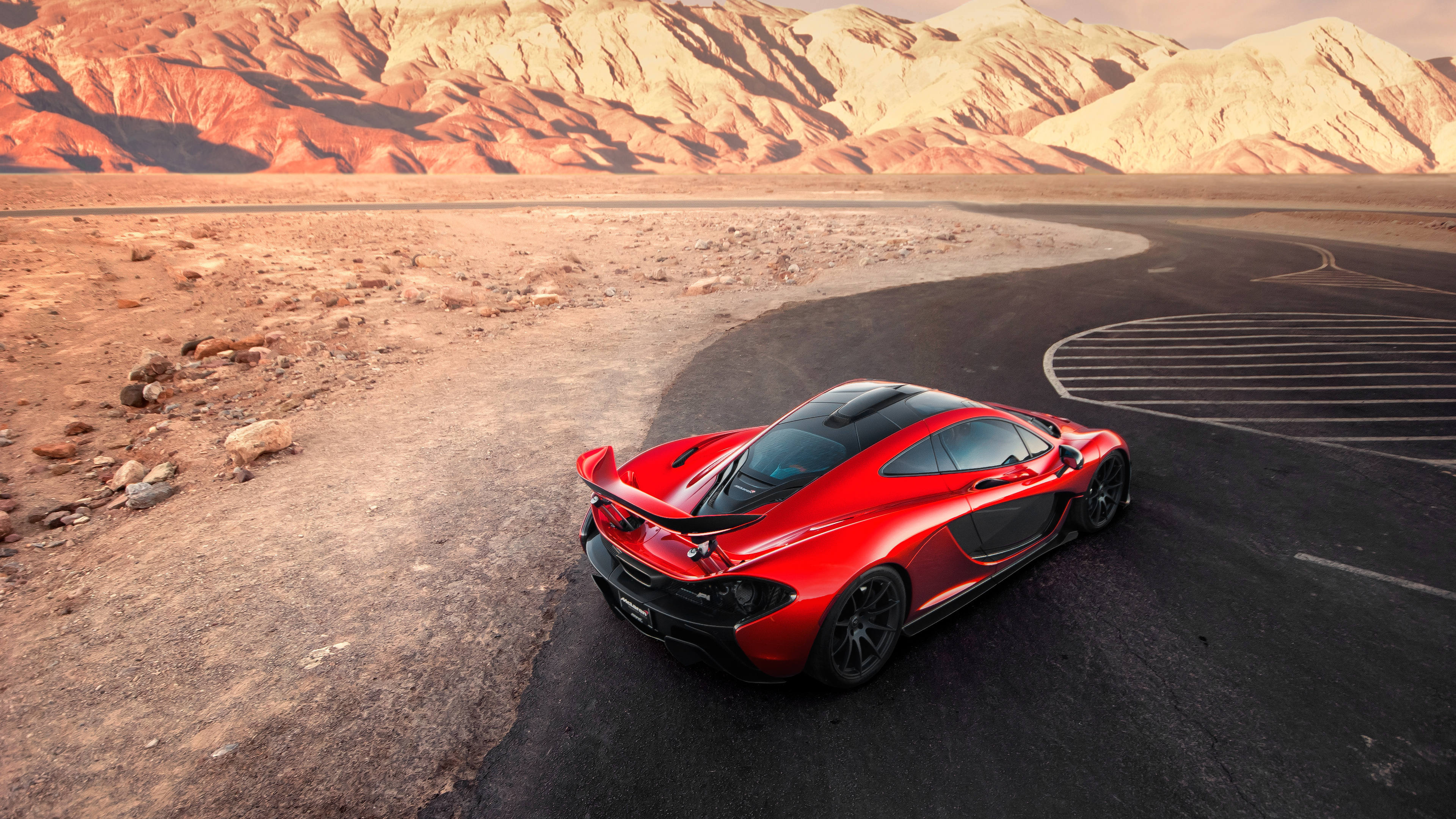 Car Wallpapers Backgrounds Hd: McLaren P1 Death Valley Wallpaper