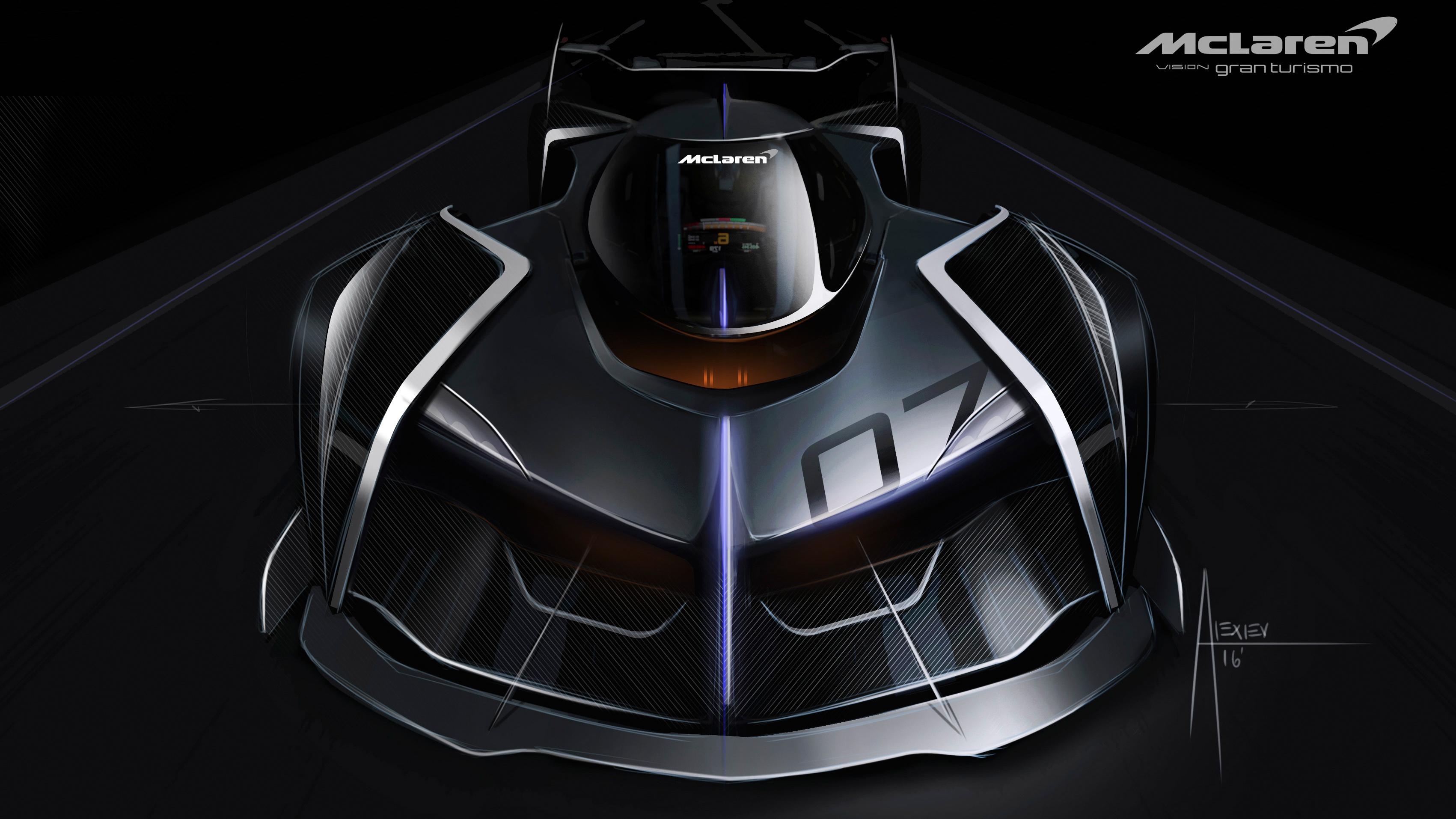 Mclaren Ultimate Vision Gt Ps4 Gran Turismo Sport Concept