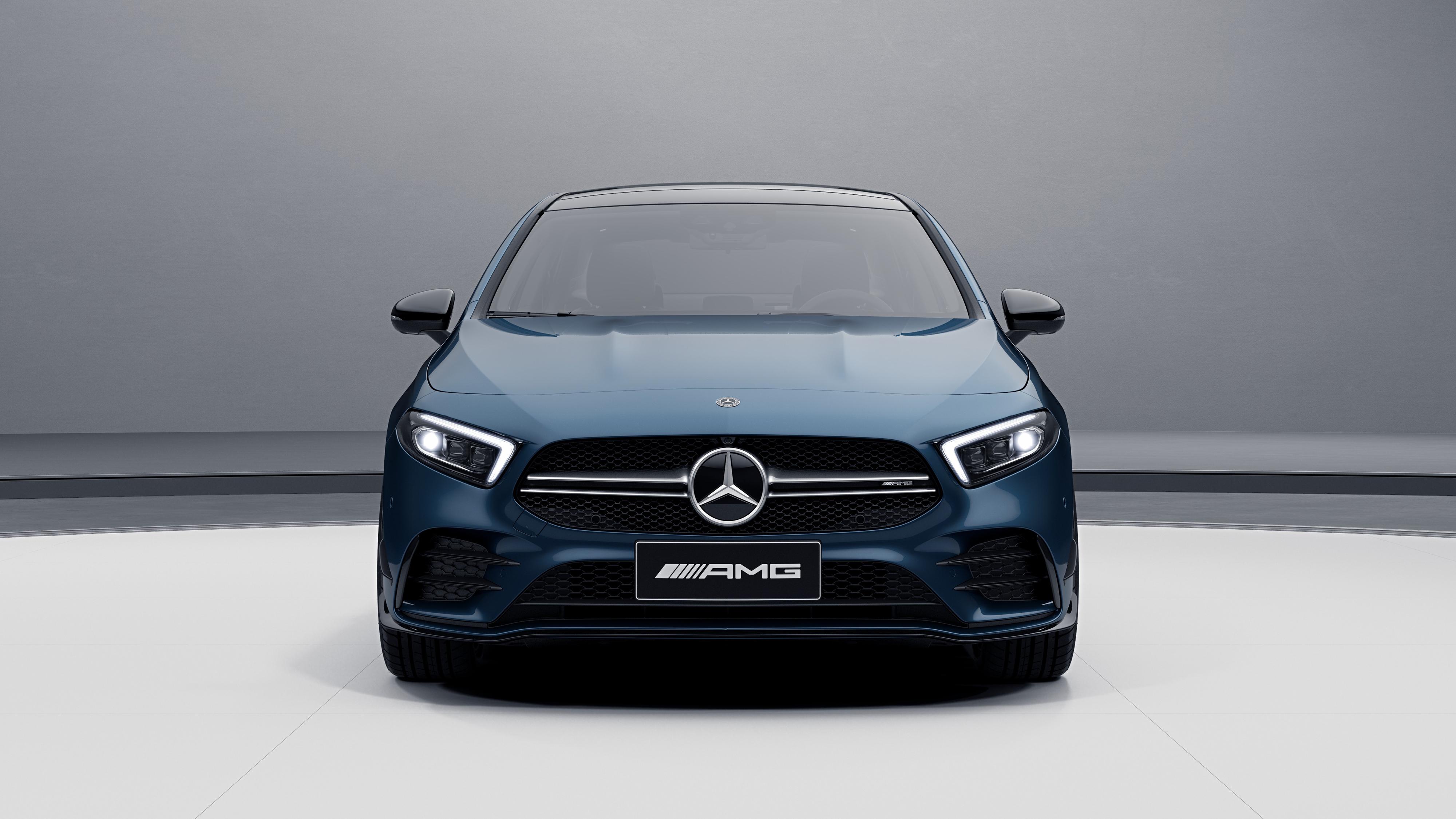 Mercedes Amg A 35 L 4matic 2019 2 4k Wallpaper Hd Car Wallpapers Id 13661
