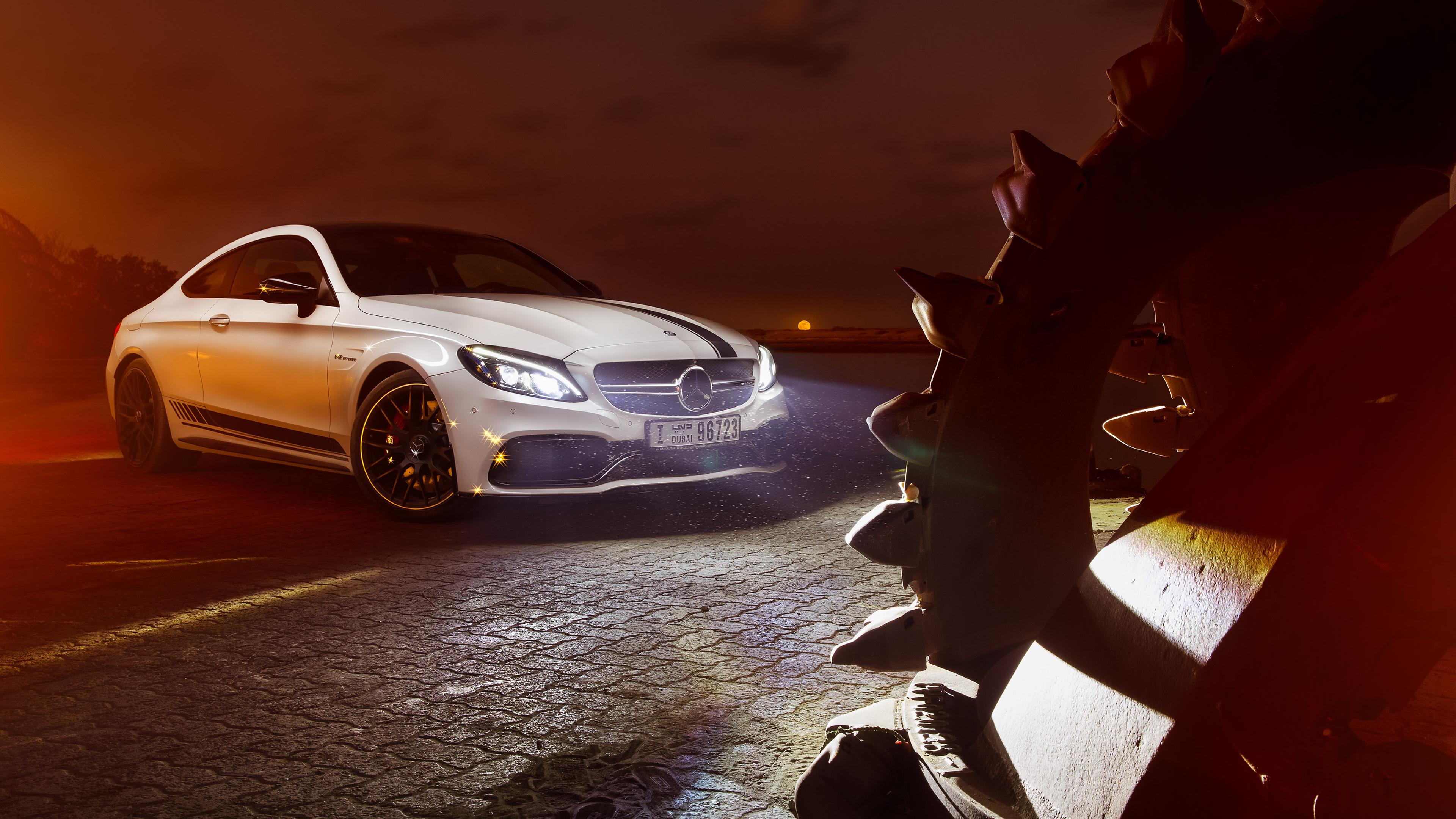 Mercedes-AMG C63 4K Wallpaper | HD Car Wallpapers | ID #11146