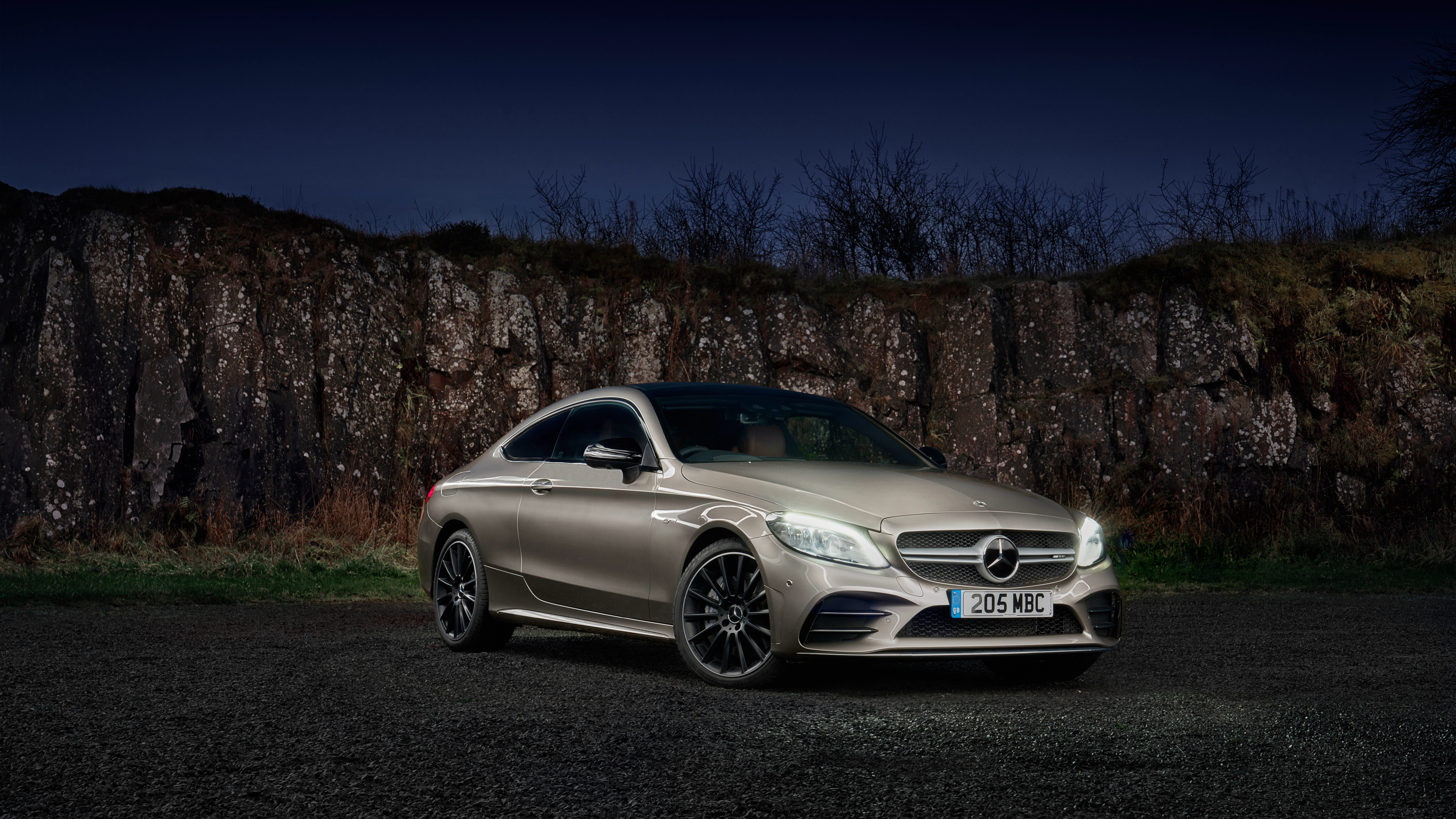 Mercedes Amg C 43 4matic Coupe 2019 4k 2 Wallpaper Hd Car Wallpapers Id 11797