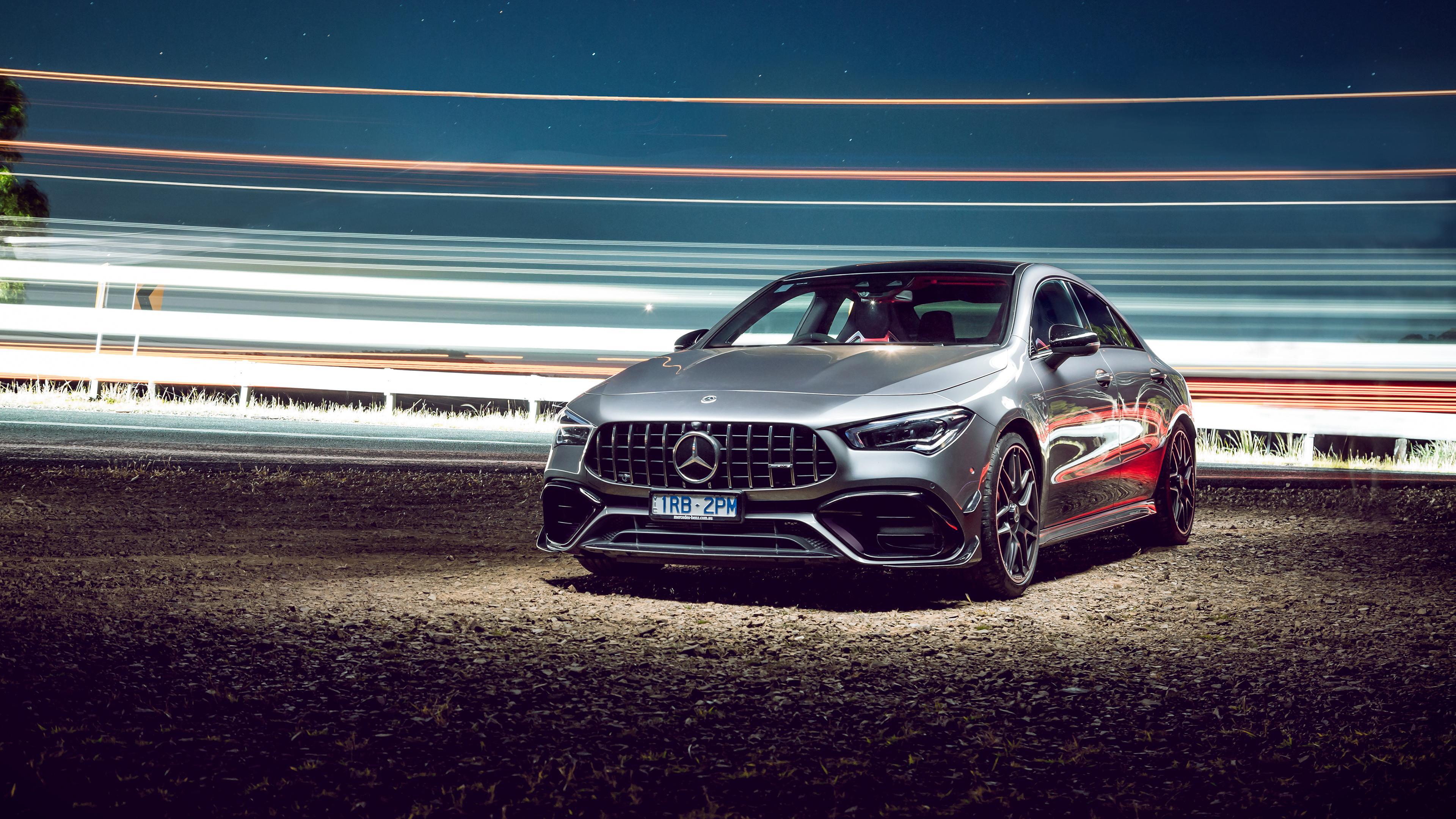Download Mercedes Benz Cla 45 Amg 4K Wallpaper  Images