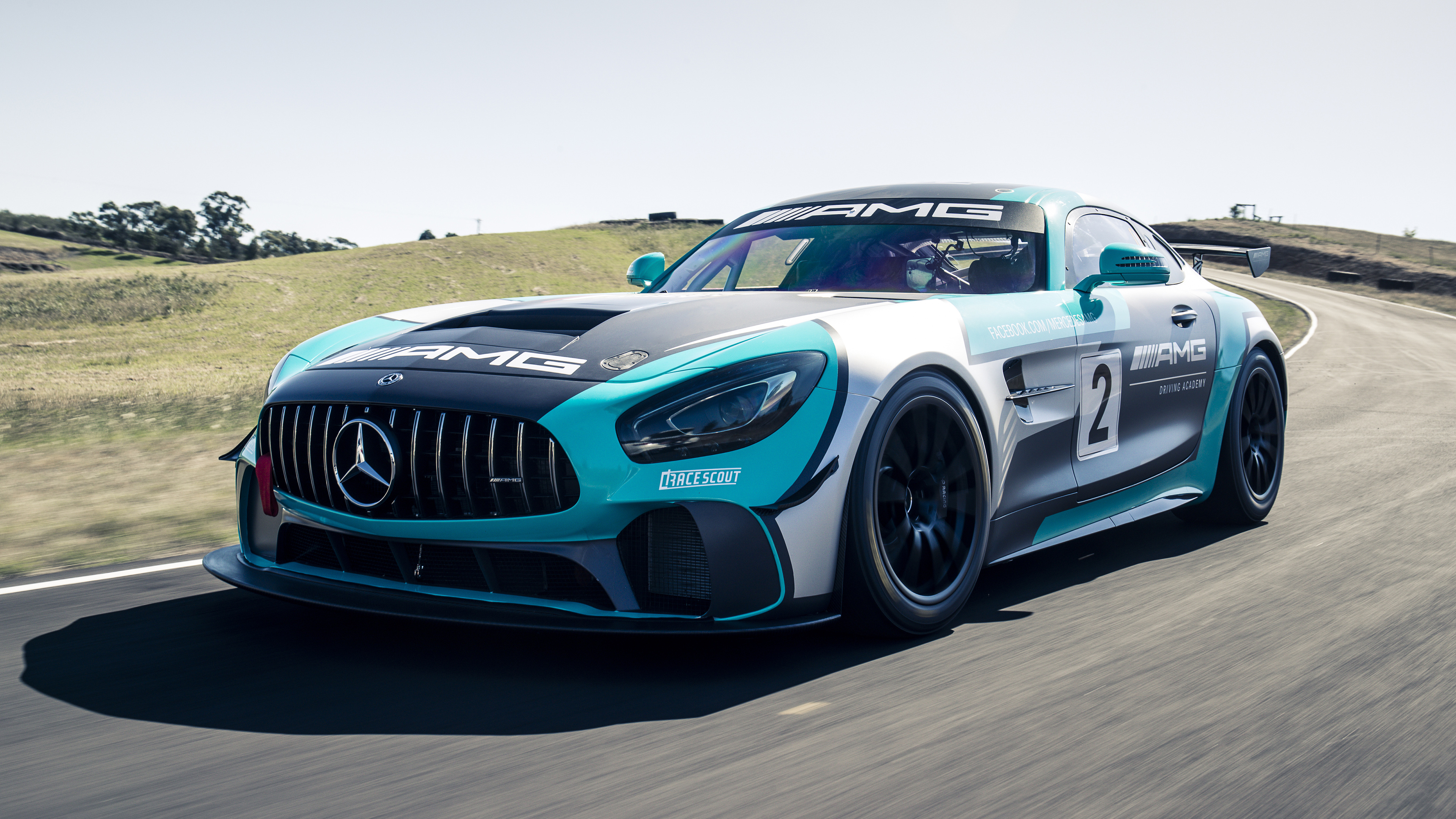 Mercedes-AMG GT4 4K Wallpaper   HD Car Wallpapers   ID #12582