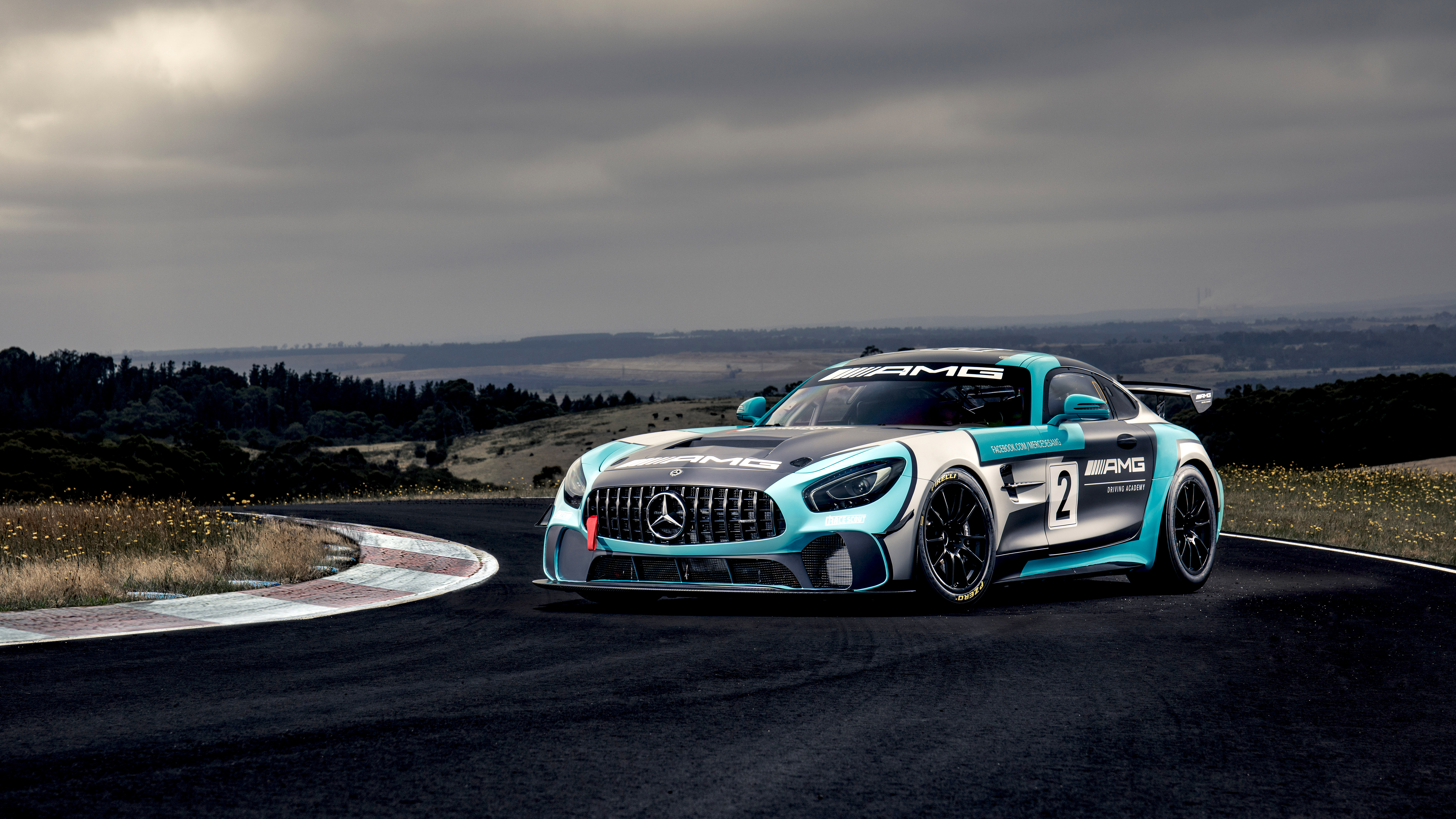 Mercedes Amg Gt4 4k 8k Wallpaper Hd Car Wallpapers Id 12584