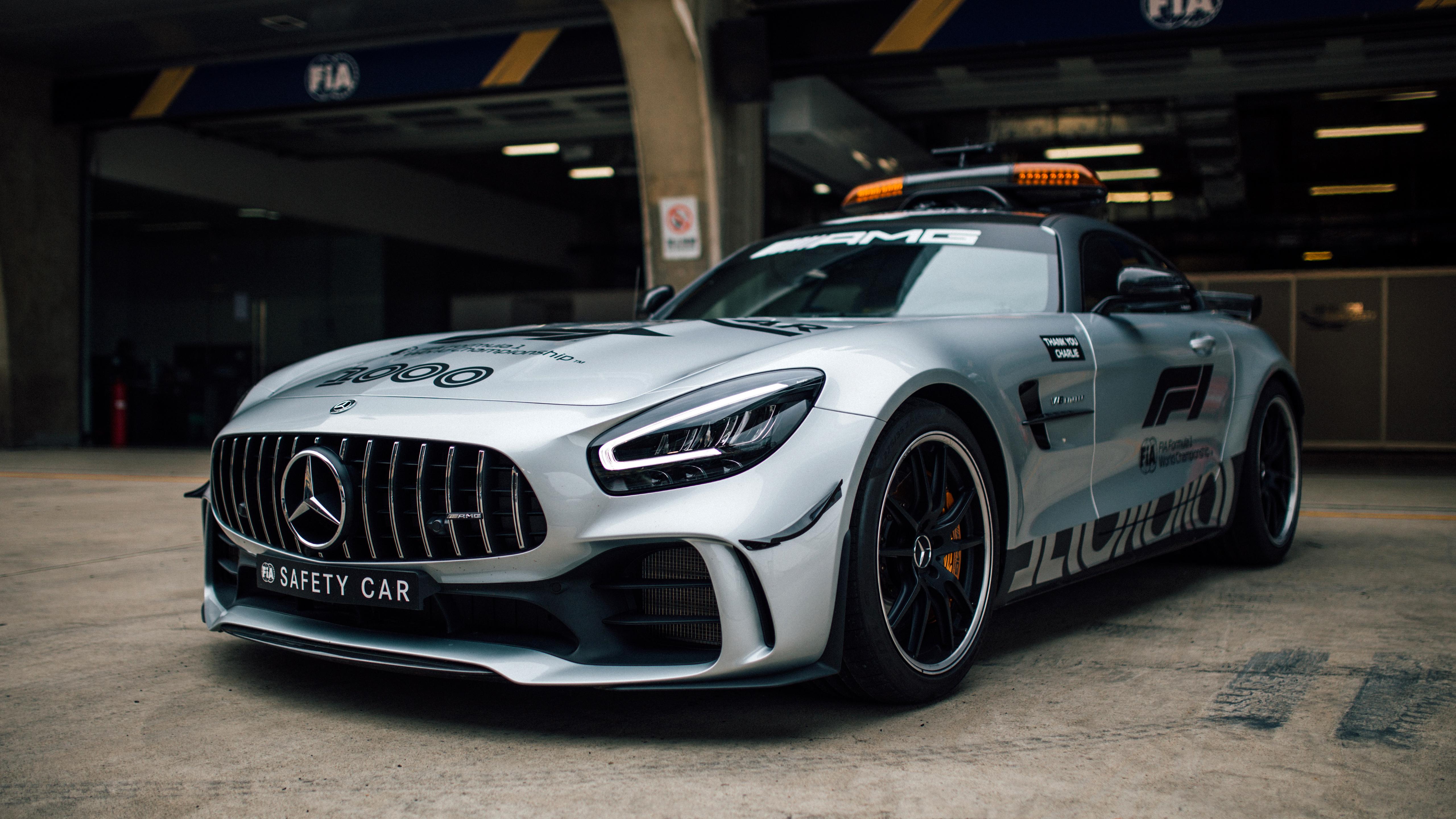 Mercedes-AMG GT R F1 Safety Car 5K Wallpaper | HD Car ...