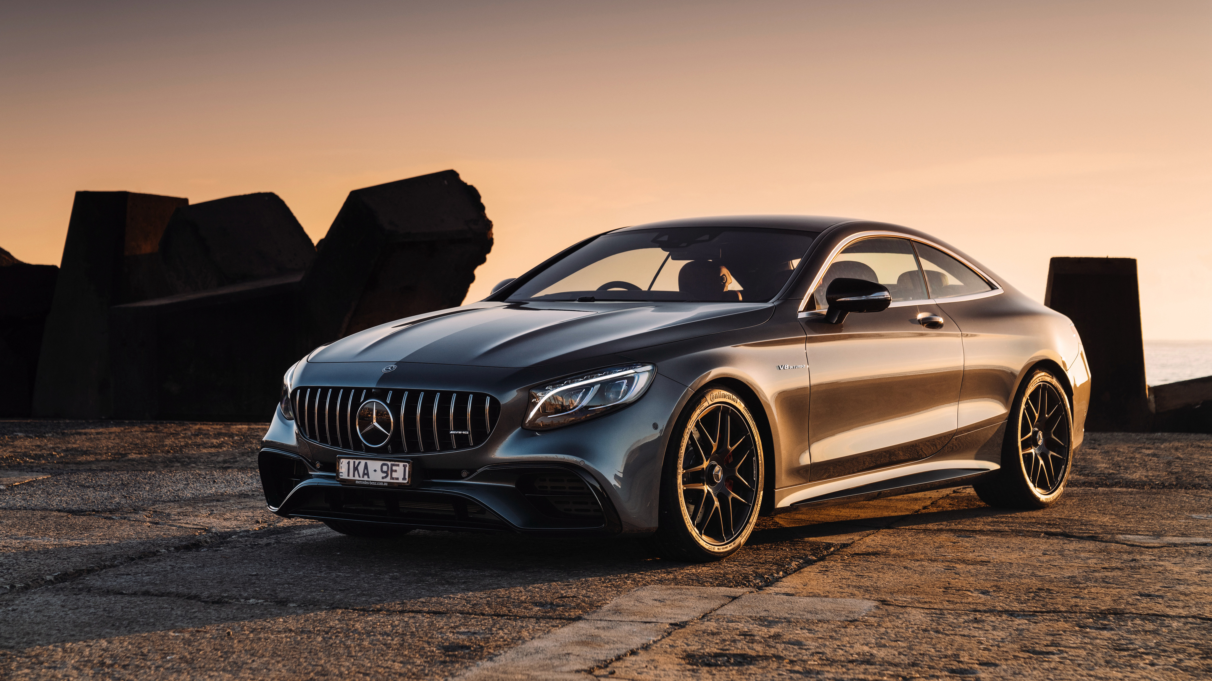 S 63 Amg Wallpaper: Mercedes-AMG S 63 4MATIC Coupe 4K Wallpaper