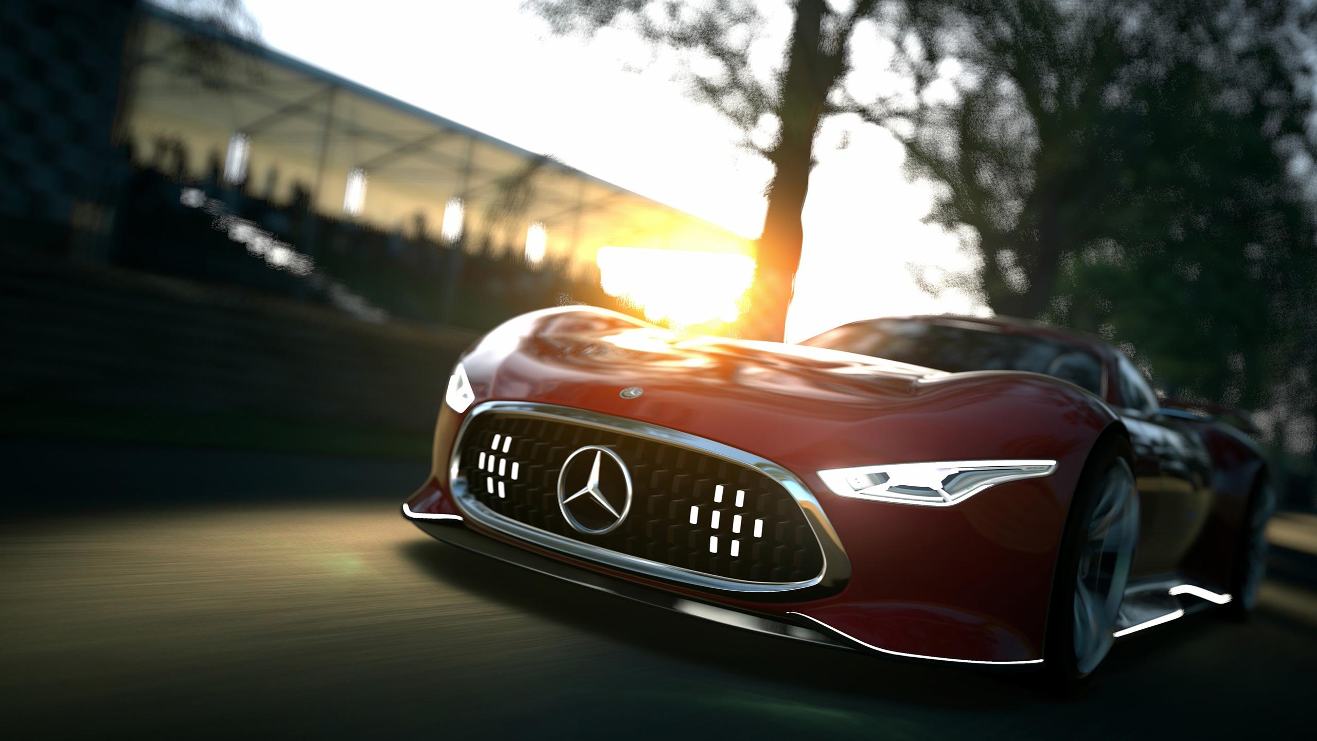 Mercedes Benz AMG Vision Gran Turismo Concept Wallpaper ...