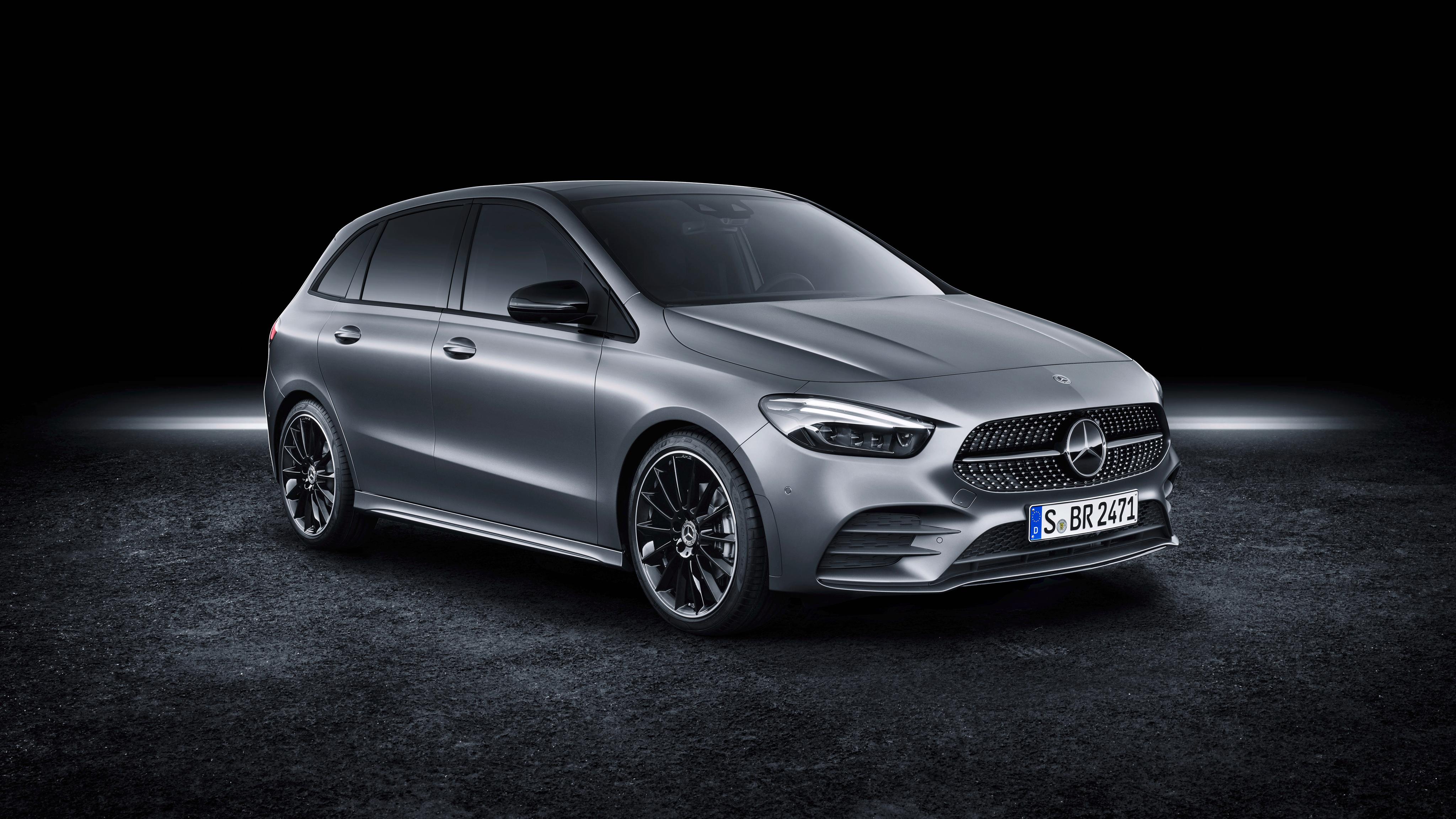 Mercedes-Benz B-Klasse AMG Line 2019 4K Wallpaper | HD Car ...