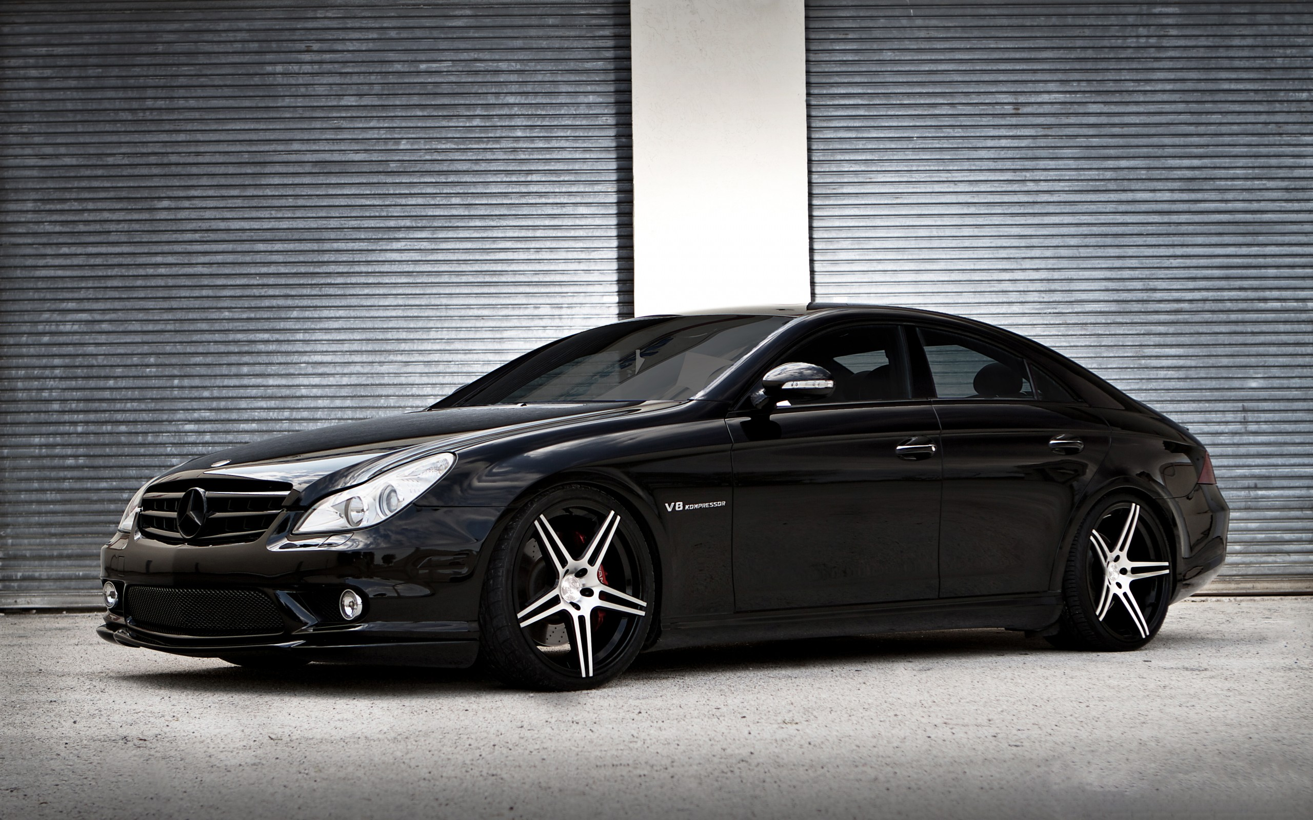 Mercedes benz cls55 amg wallpaper hd car wallpapers id for Mercedes benz v8 amg