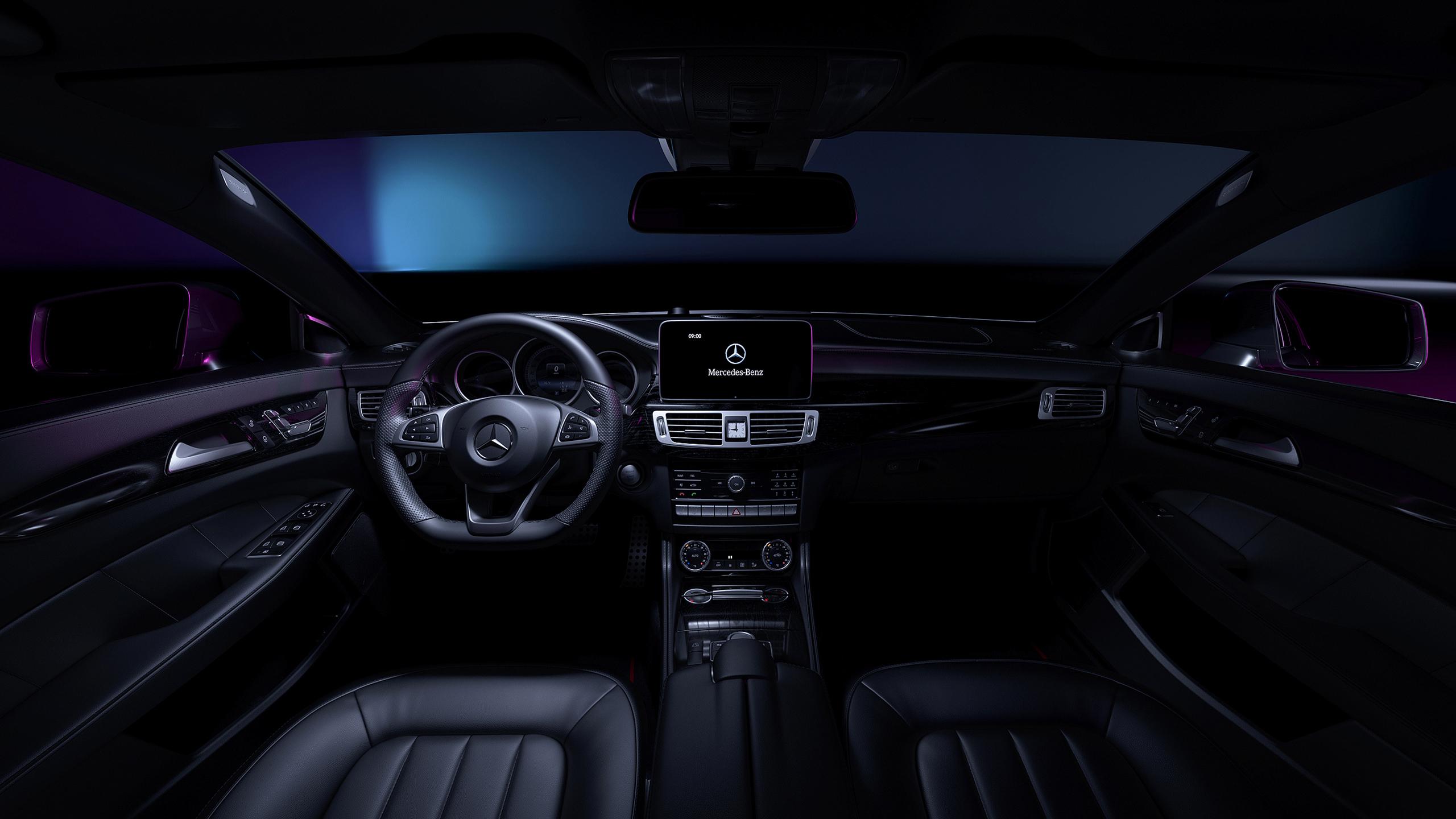 Mercedes-Benz CLS Interior Wallpaper   HD Car Wallpapers ...