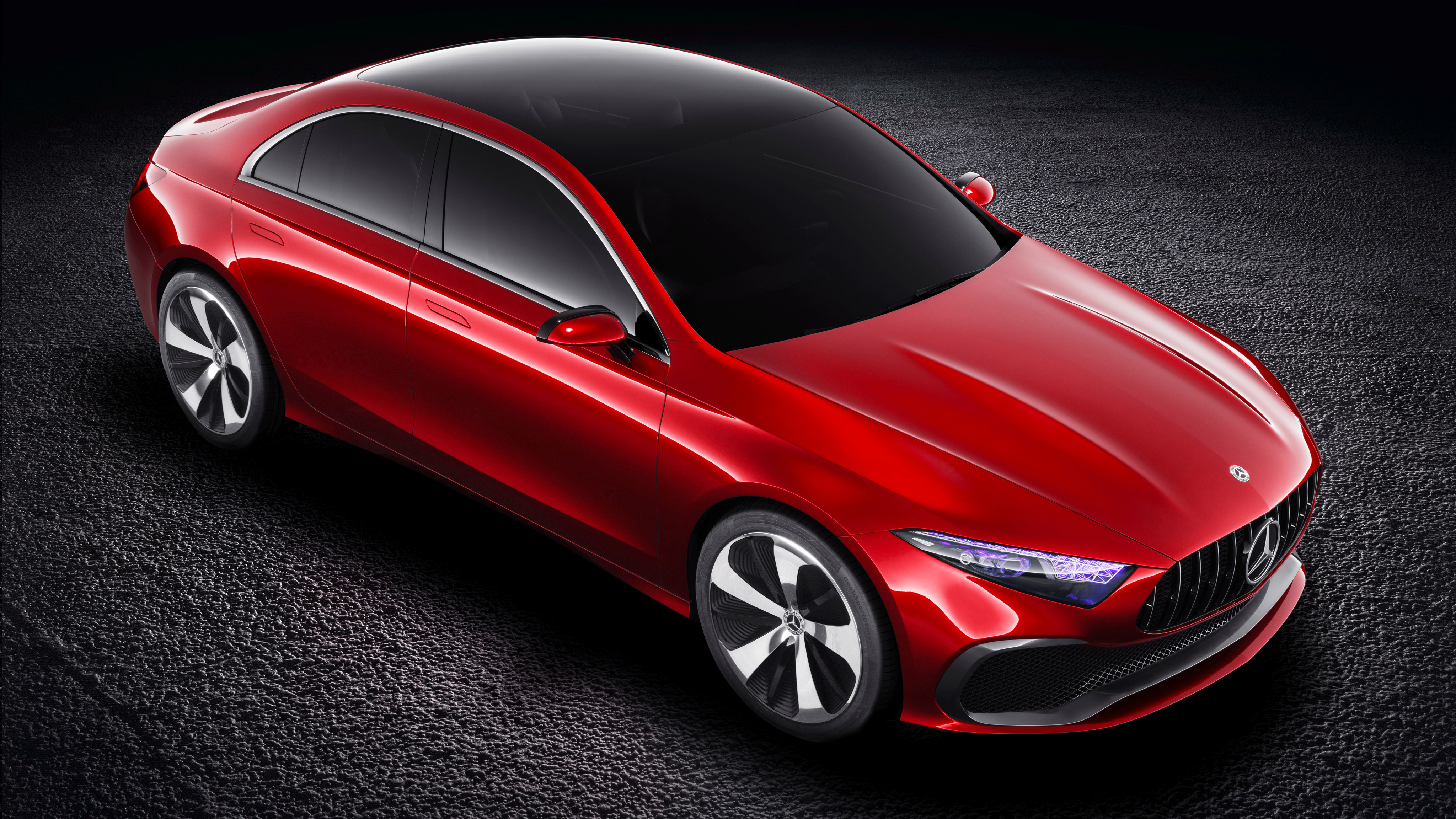 Mercedes Benz Concept A Sedan 3 Wallpaper   HD Car ...