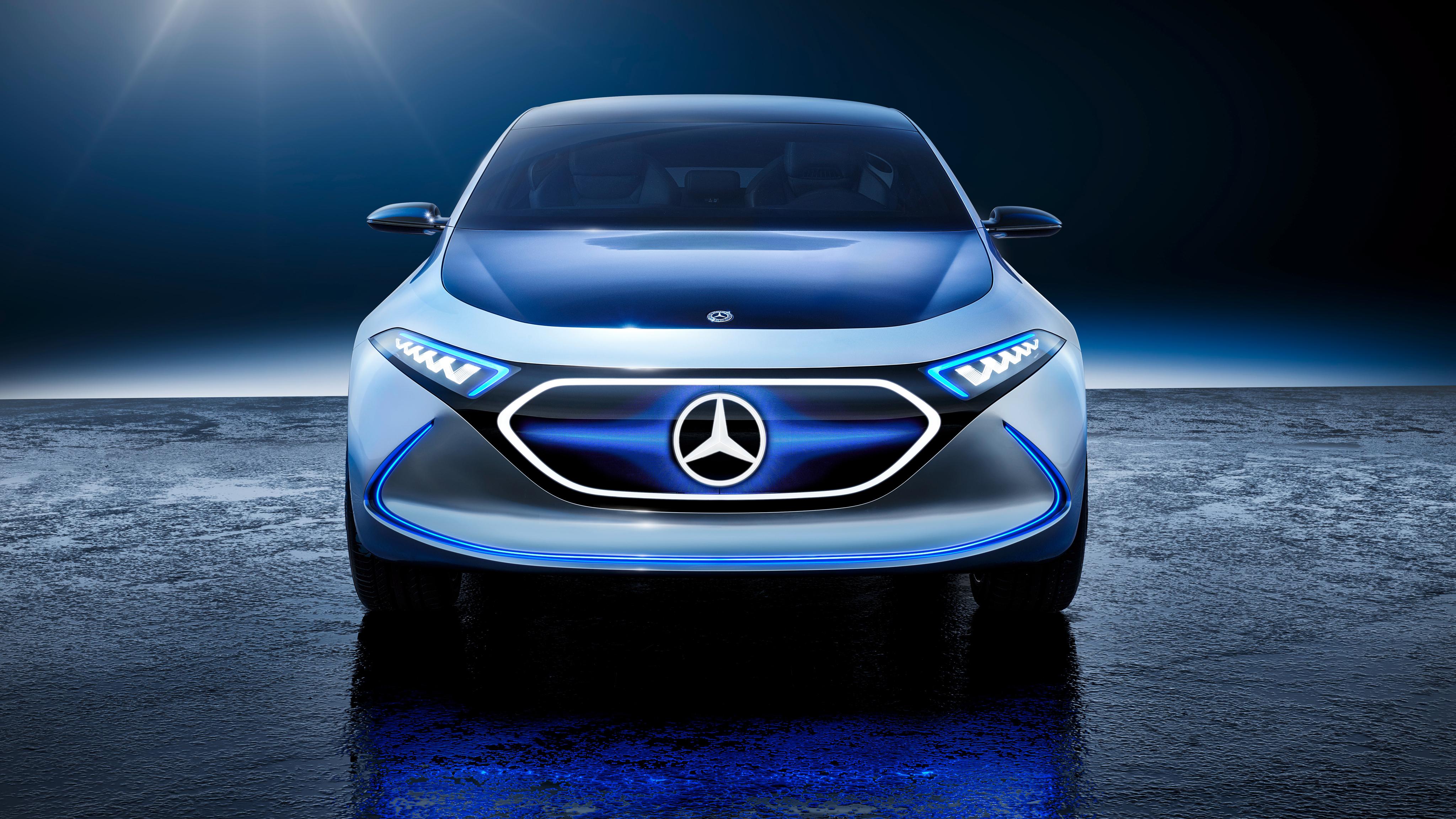 Mercedes Benz Concept EQ 4K 2 Wallpaper | HD Car ...