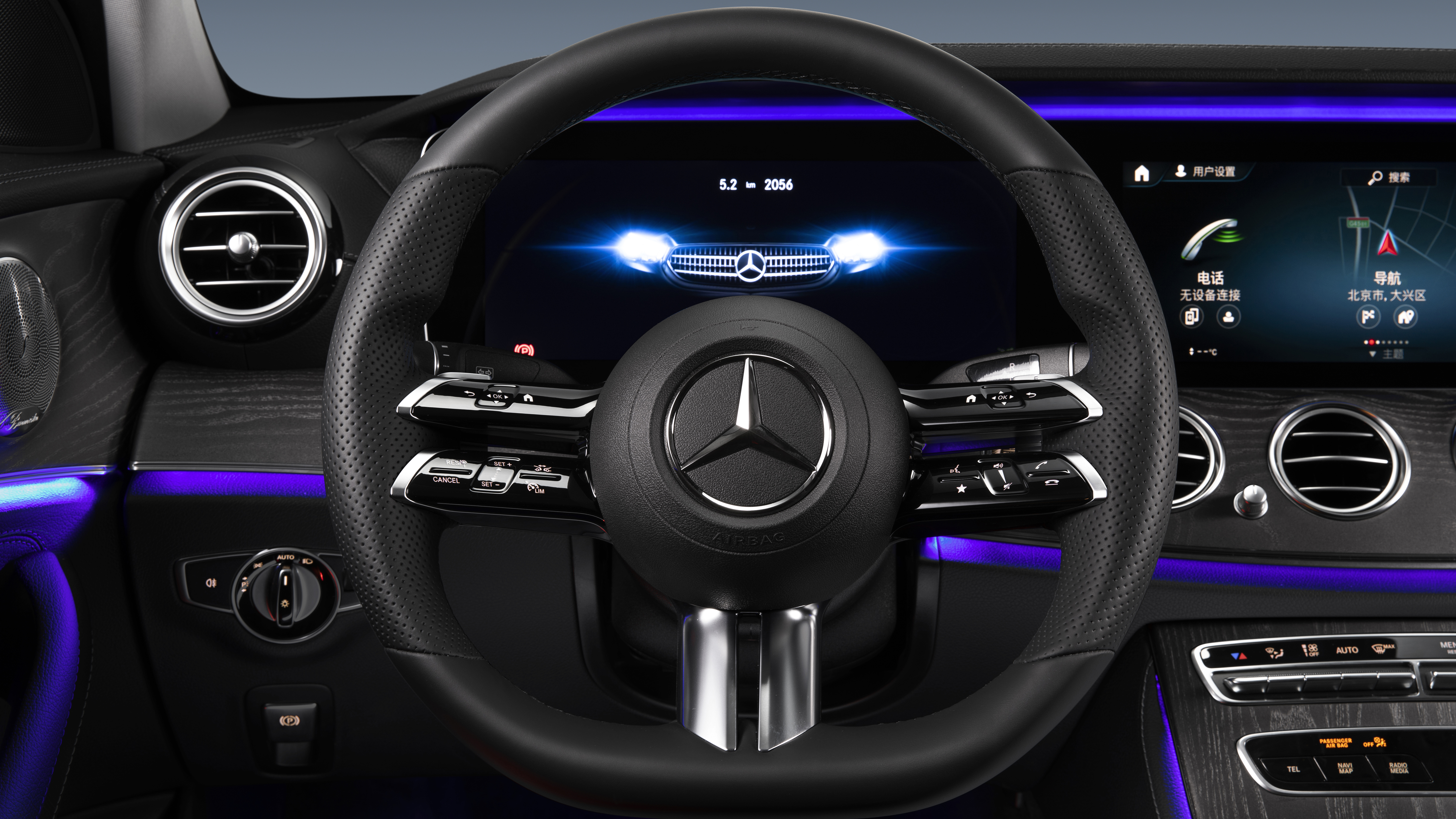 Mercedes Benz E 350 L Amg Line 2020 Interior 5k Wallpaper Hd Car Wallpapers Id 15974