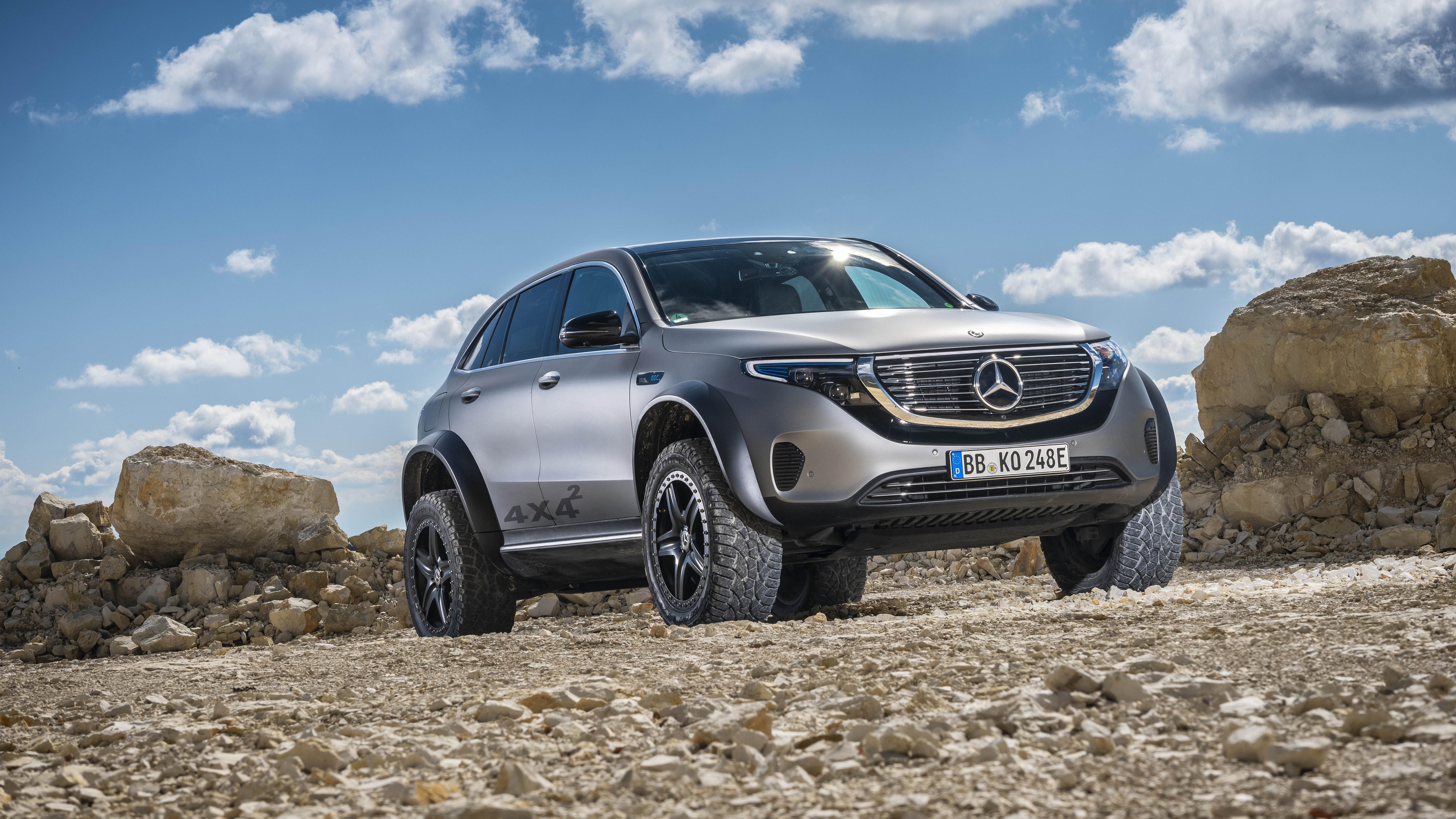 Mercedes-Benz EQC 4x4 2020 5K 2 Wallpaper   HD Car ...