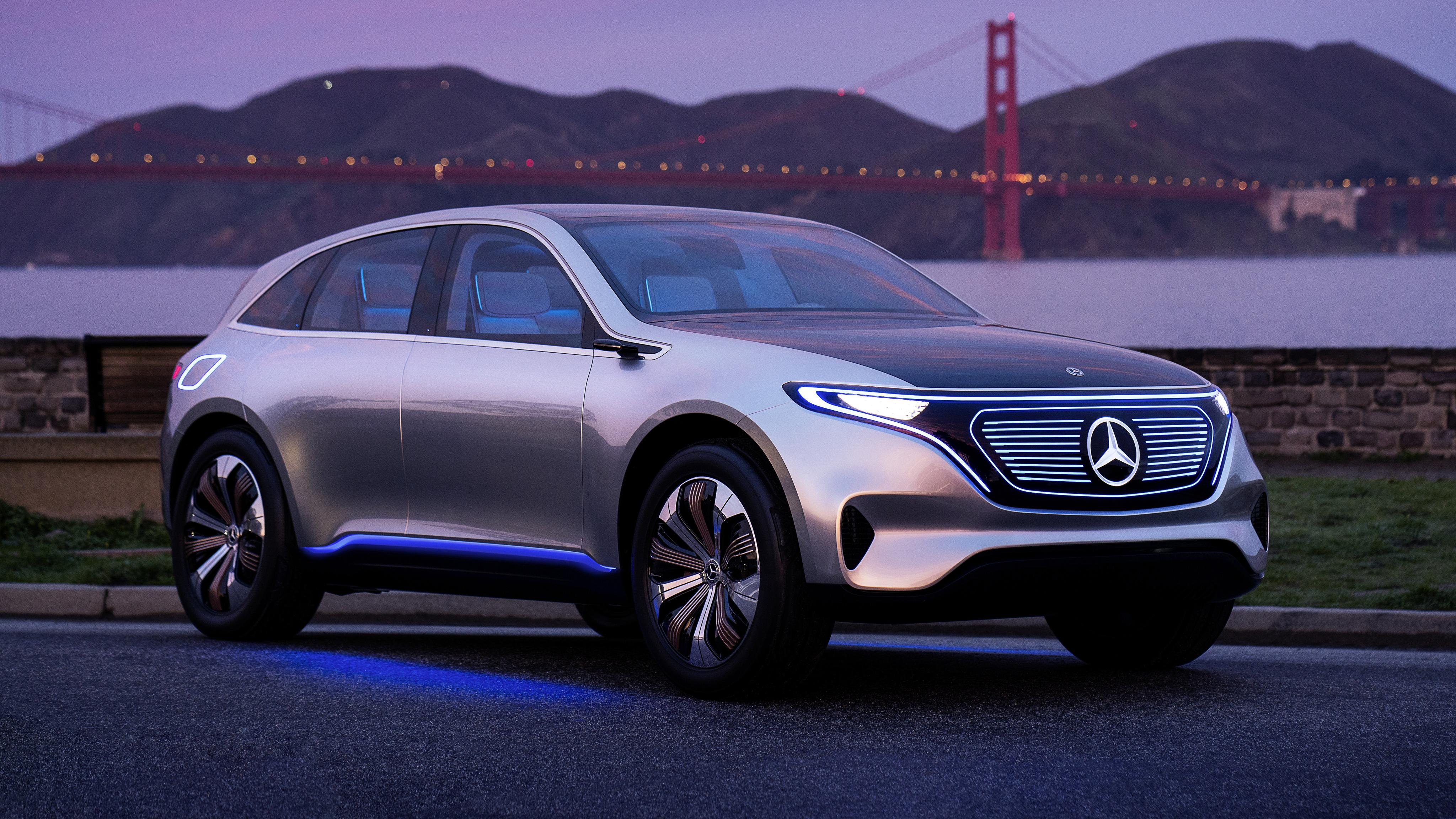 Mercedes benz generation eq concept 4k wallpaper hd car for Mercedes benz concept eq