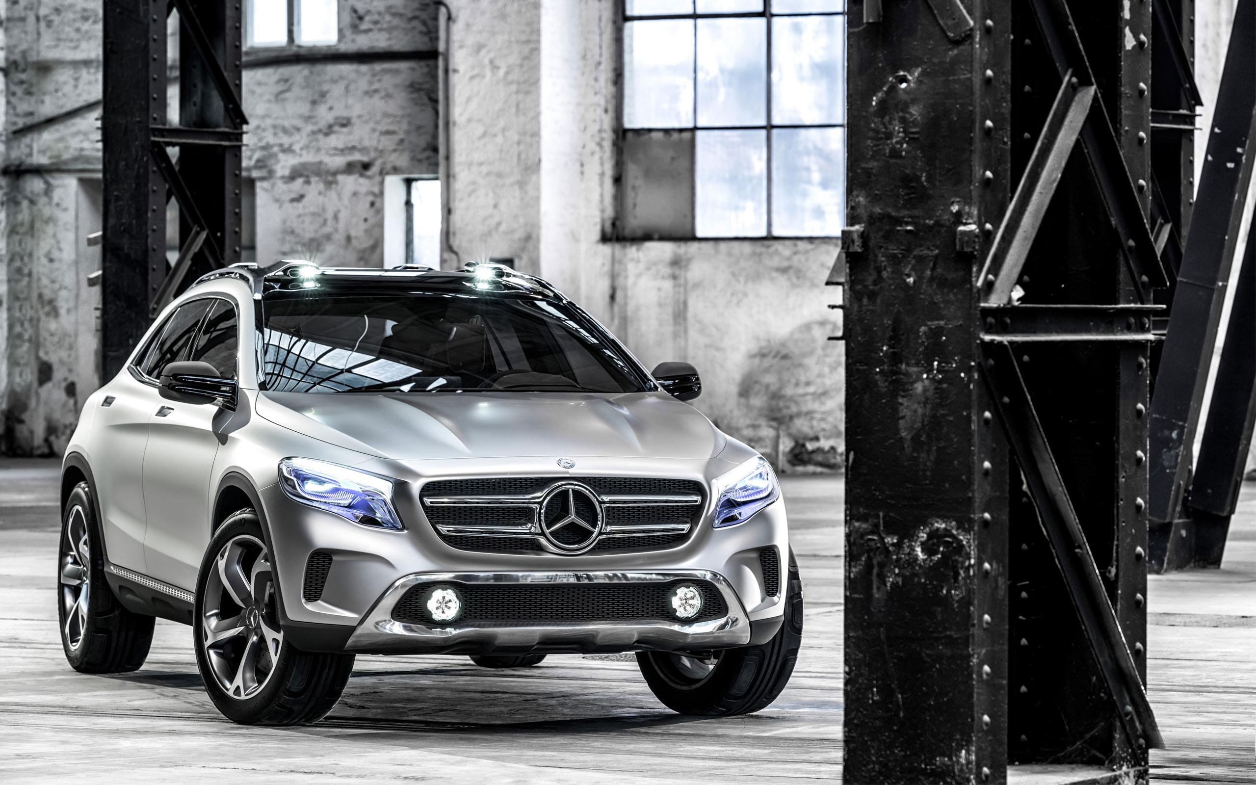 Mercedes benz gla concept 2013 wallpaper hd car for 2013 mercedes benz gla