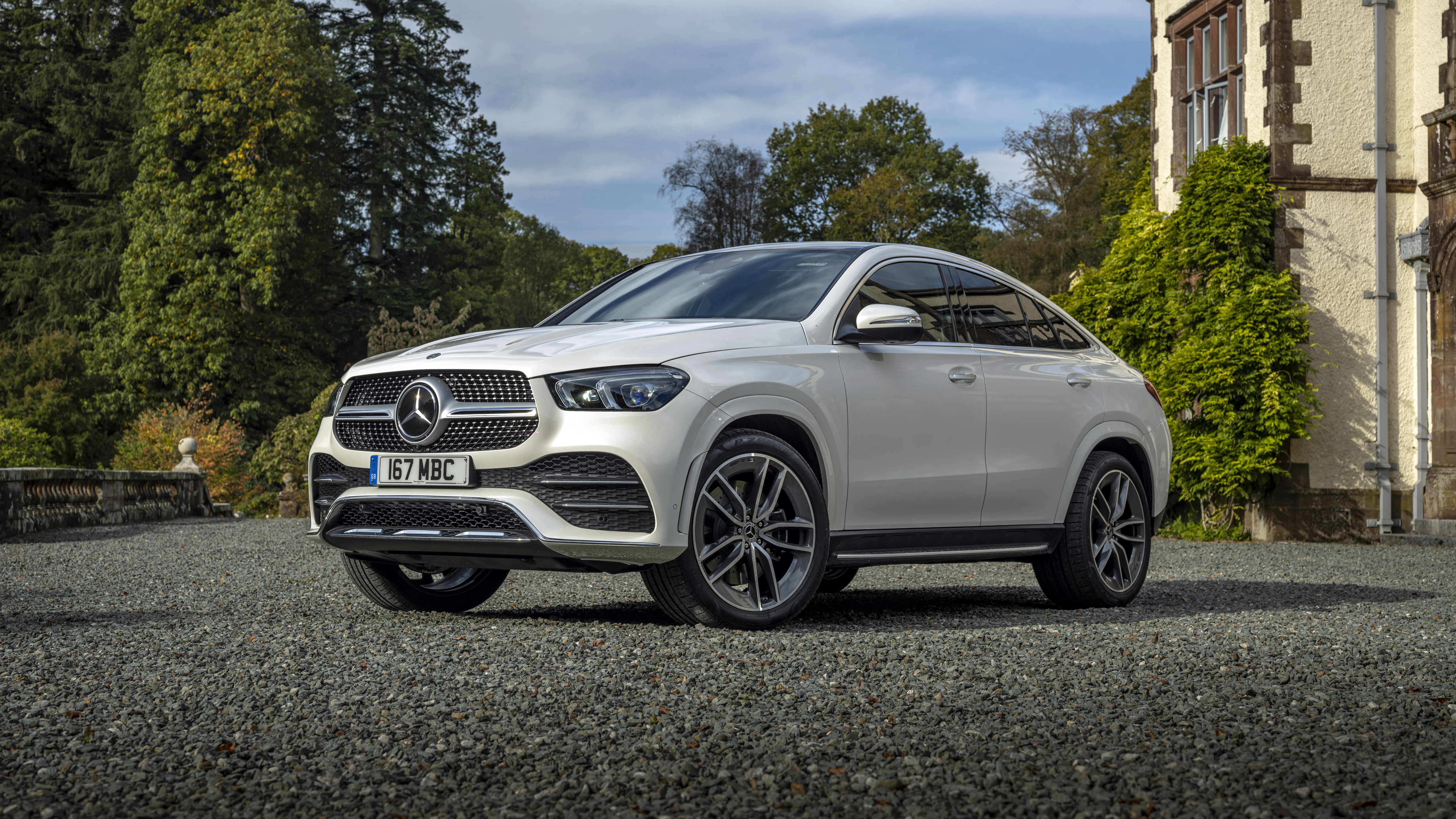 Mercedes Benz Gle 400 D 4matic Amg Line Coupe 2020 4k Wallpaper Hd Car Wallpapers Id 16069