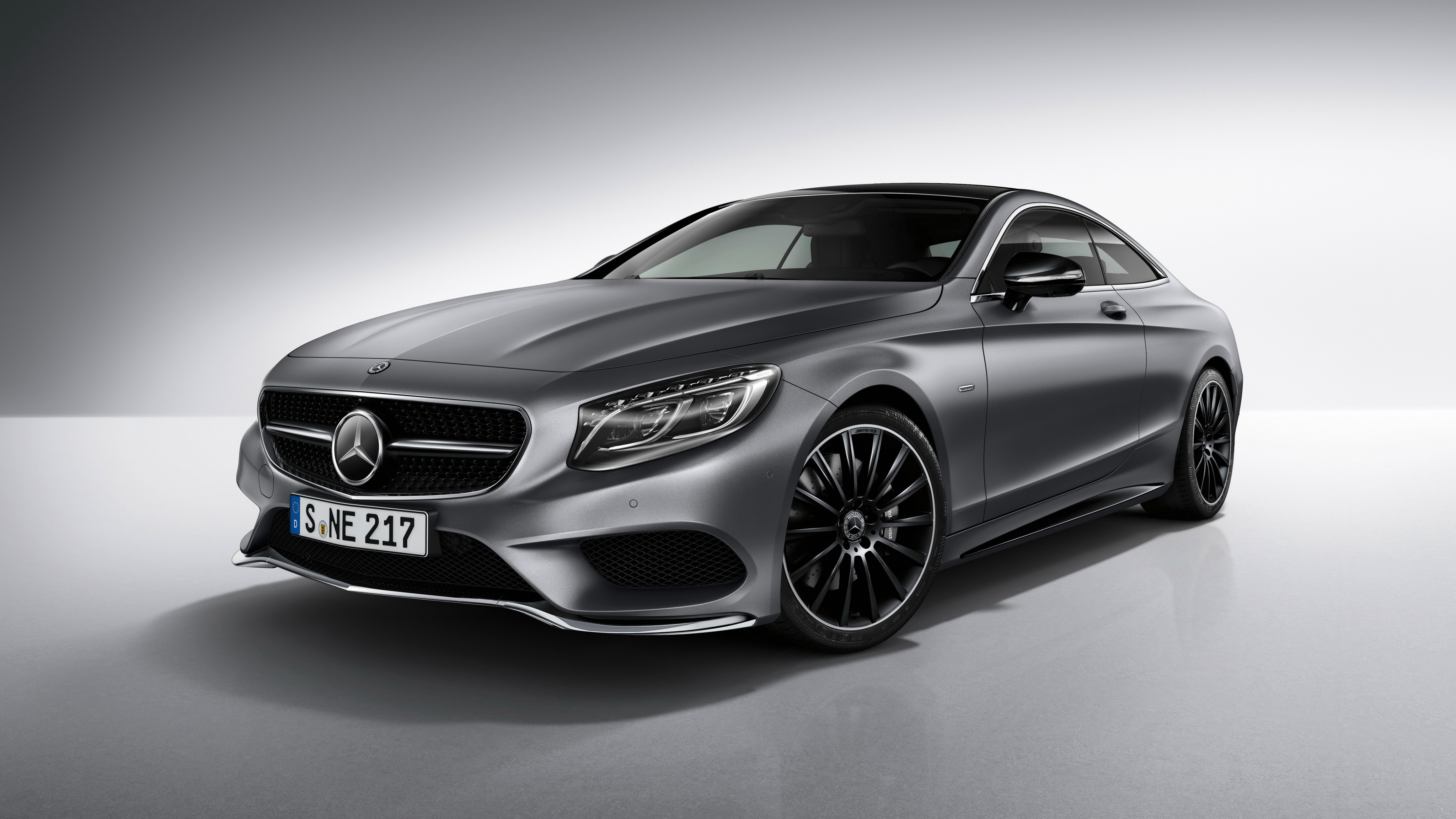 Mercedes Benz S Class Coupe Night Edition 4K 2017 ...