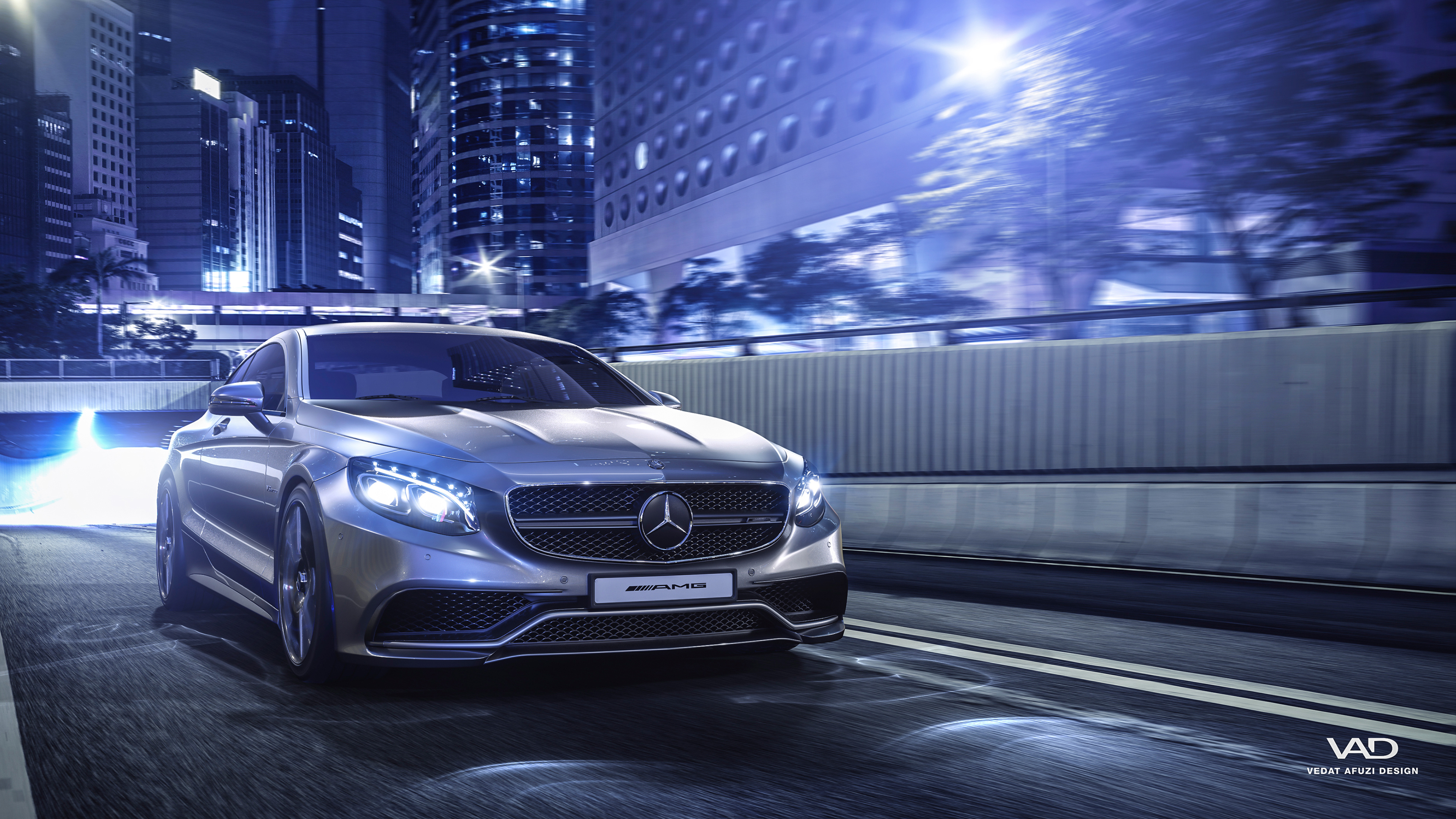 Mercedes Benz S Coupe AMG 4K Wallpaper  HD Car Wallpapers  ID 8438