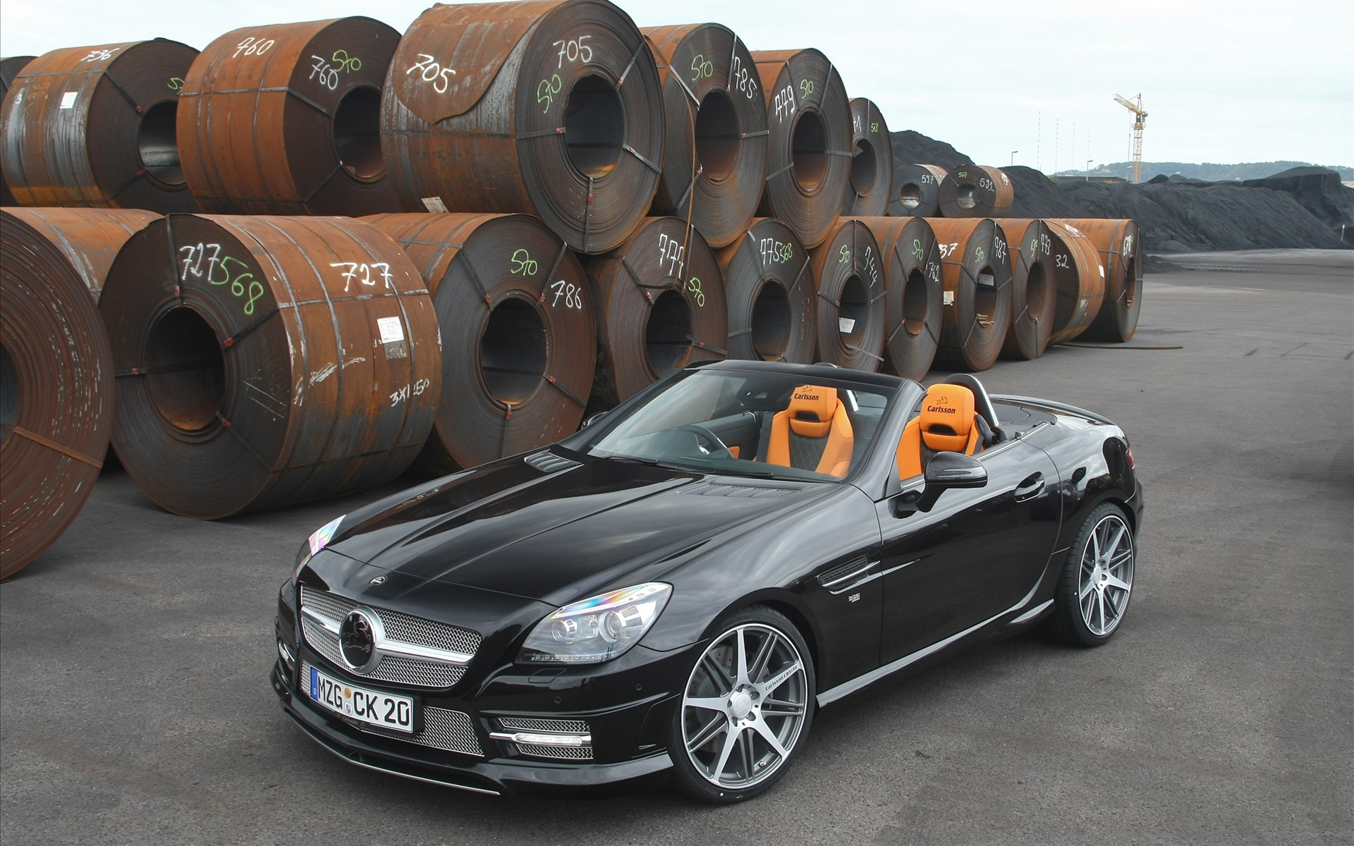 Mercedes Benz SLK 2011 Wallpaper | HD Car Wallpapers | ID ...