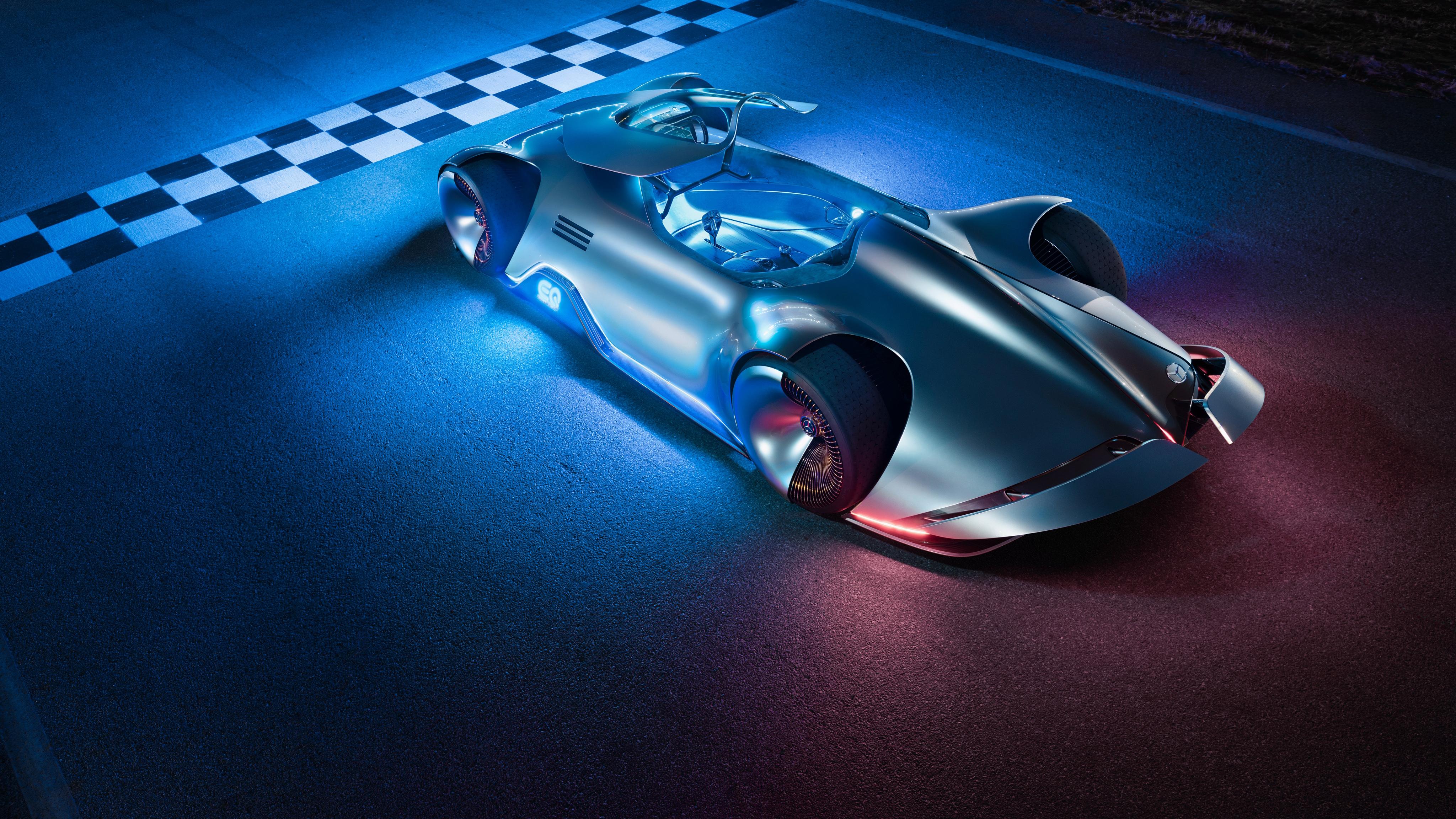 Mercedes benz vision eq silver arrow 4k 15 wallpaper hd for Auto mercedes benz