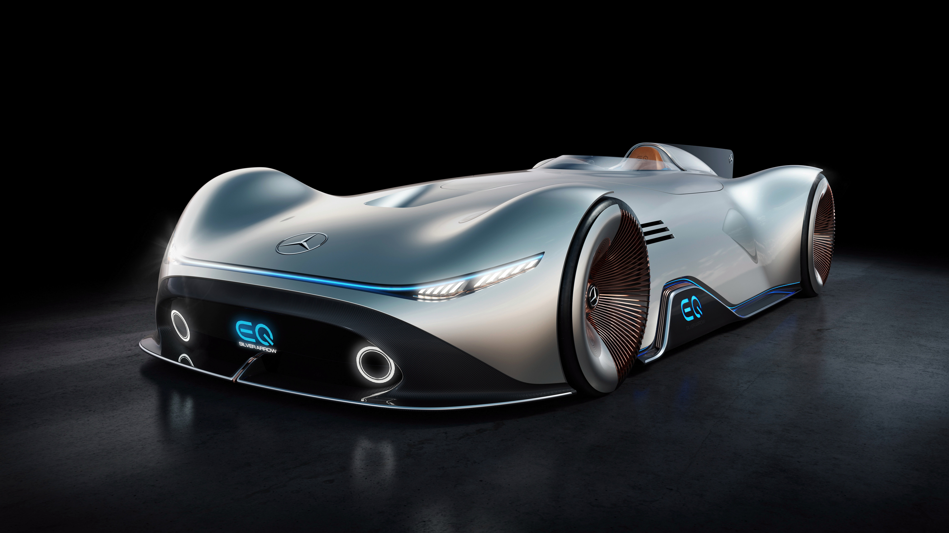 Mercedes Benz Vision Eq Silver Arrow 4k 6 Wallpaper Hd Car