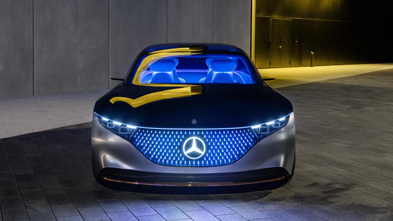 Mercedes-Benz Vision EQS 2019 4K 5 Wallpaper | HD Car ...