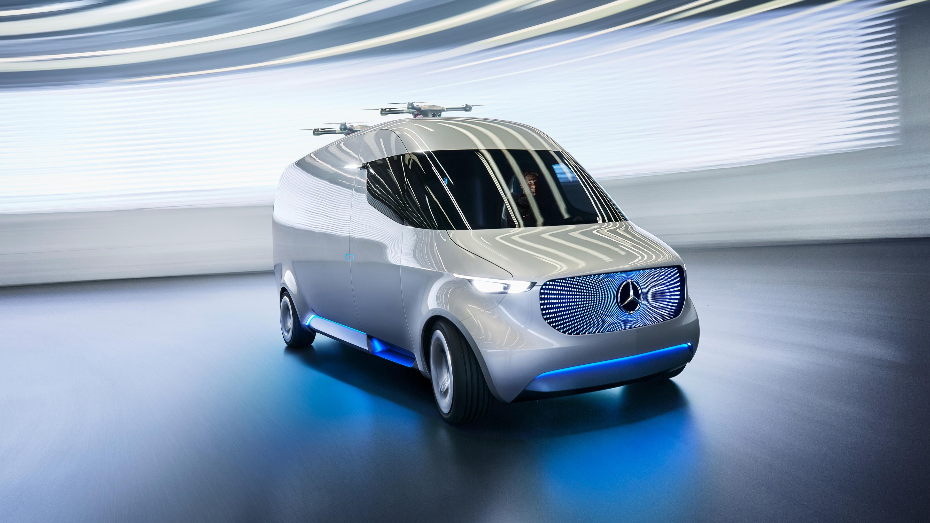 Mercedes Benz Vision Van 4K Wallpaper   HD Car Wallpapers ...