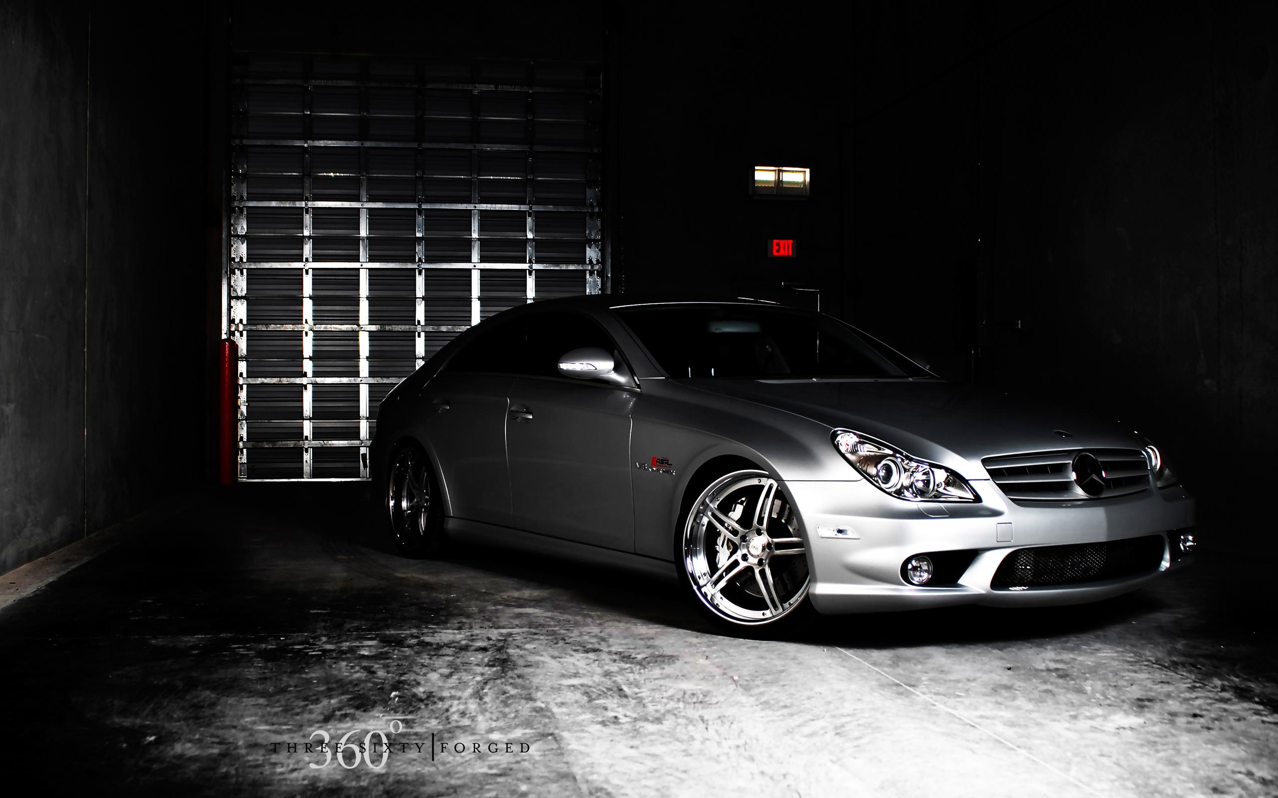 Mercedes Cls 55 360 Forged Spec 5ive 2 Wallpaper Hd Car