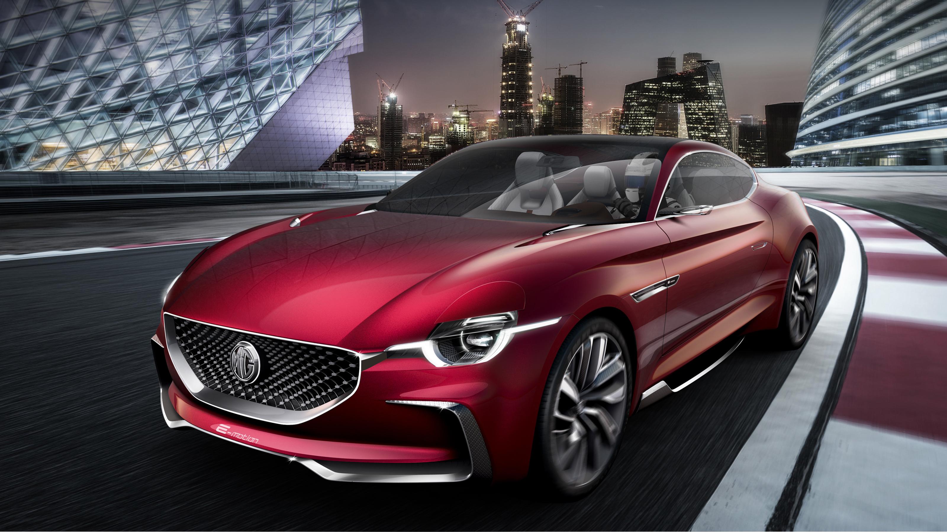 Mg E Motion Concept Car Wallpaper Hd Car Wallpapers