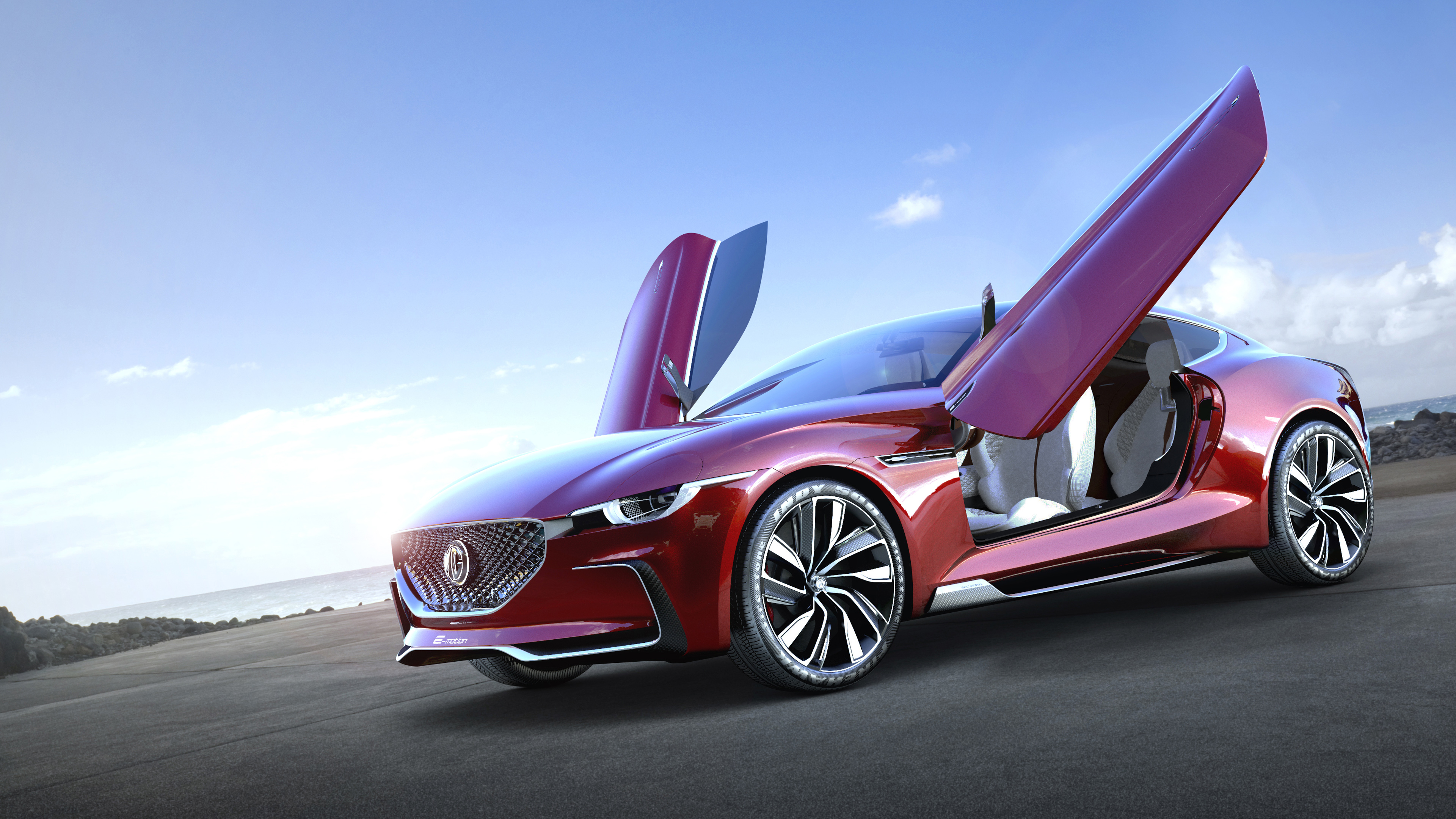 mg e motion concept car 3 wallpaper | hd car wallpapers | id #7694