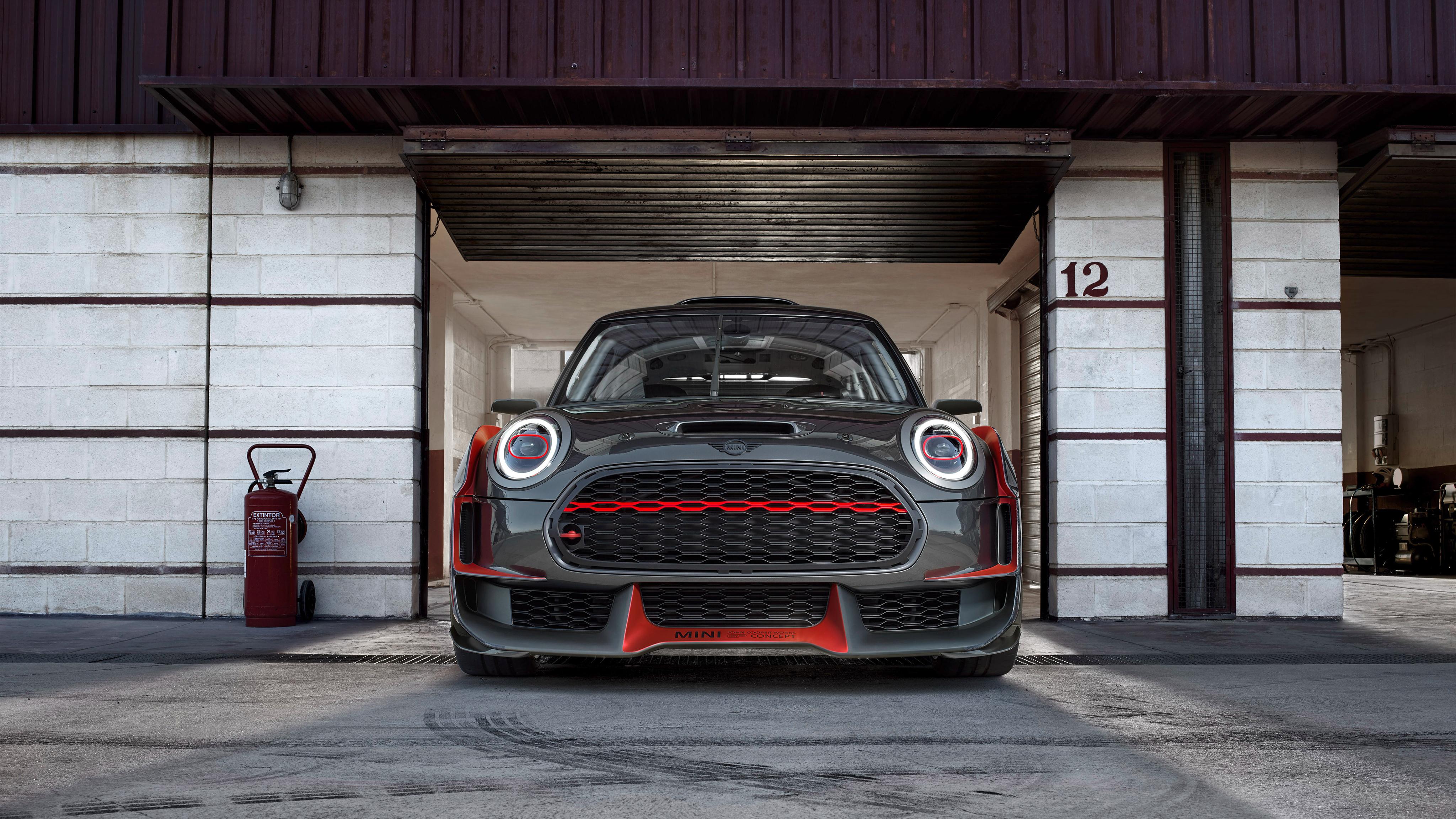 Mini John Cooper Works Gp Concept 4k Wallpaper Hd Car