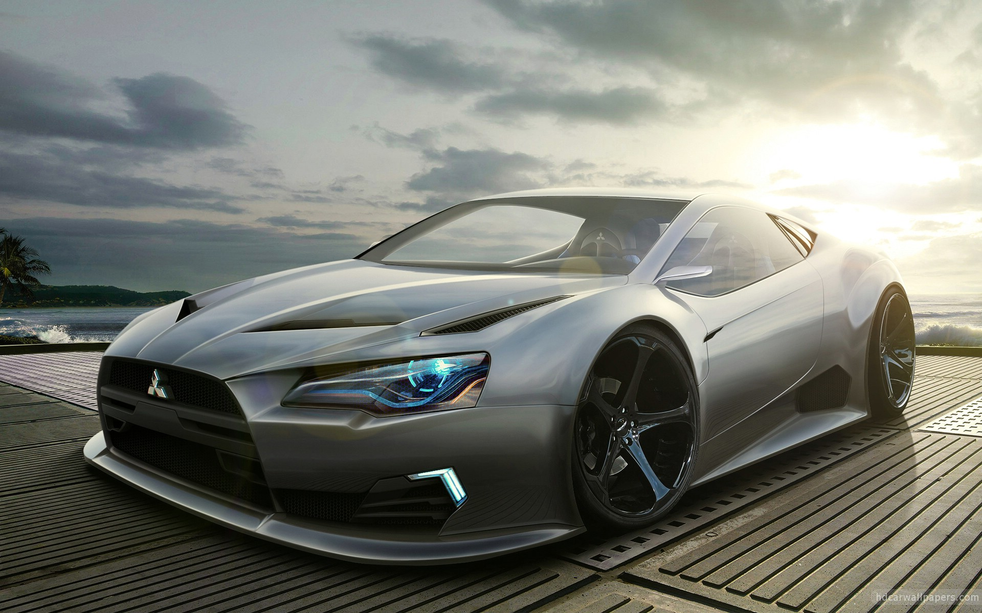 Captivating Hd Car. Mitsubishi Concept Wallpaper ...