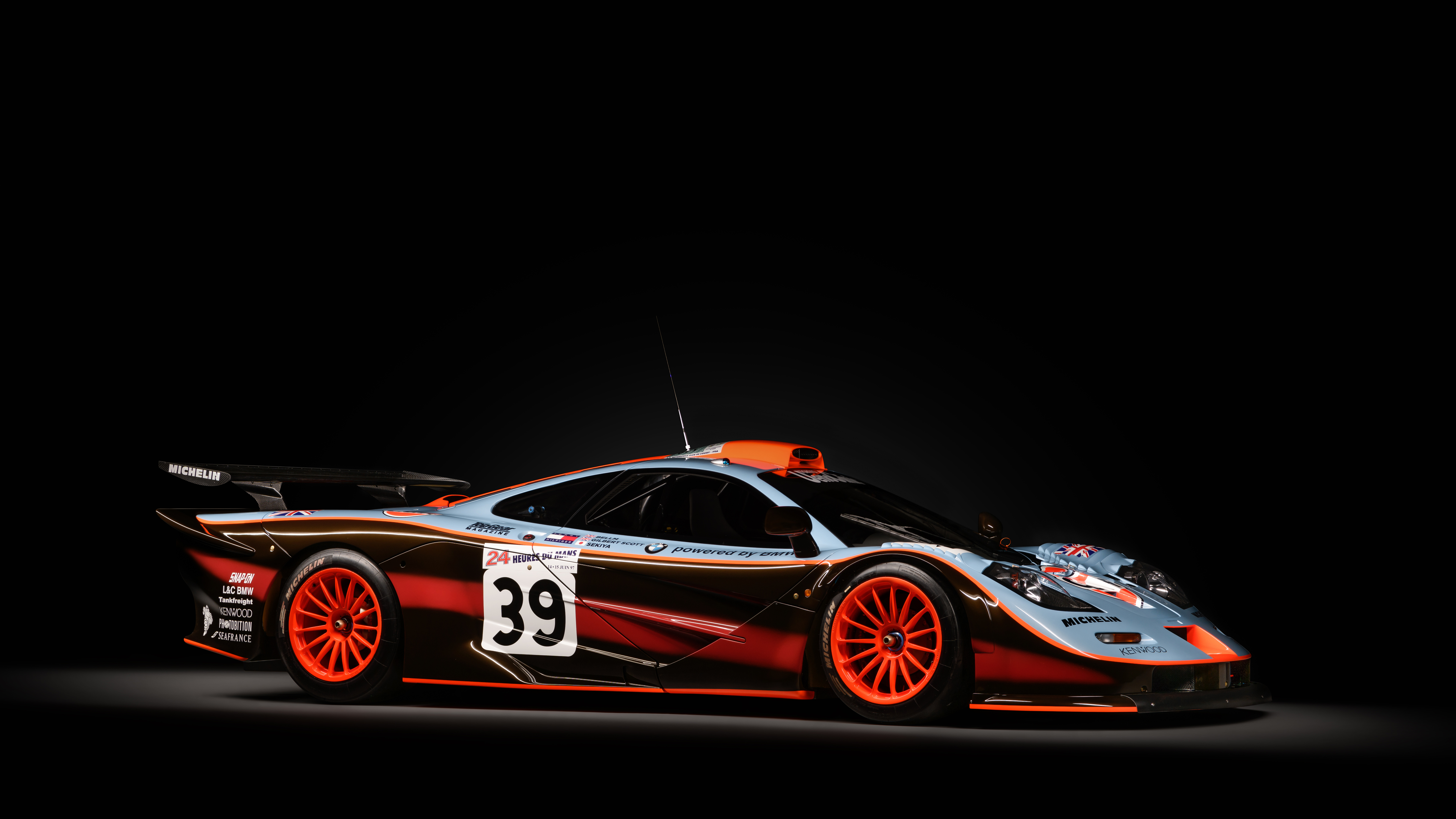 MSO McLaren F1 GTR 25 4K 8K Wallpaper | HD Car Wallpapers ...